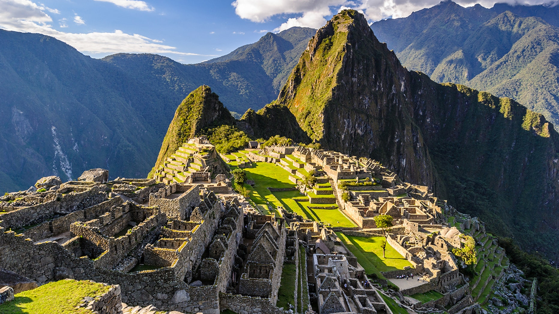 A group of young tourists were kicked out of Machu Picchu for mooning the ancient ruins.