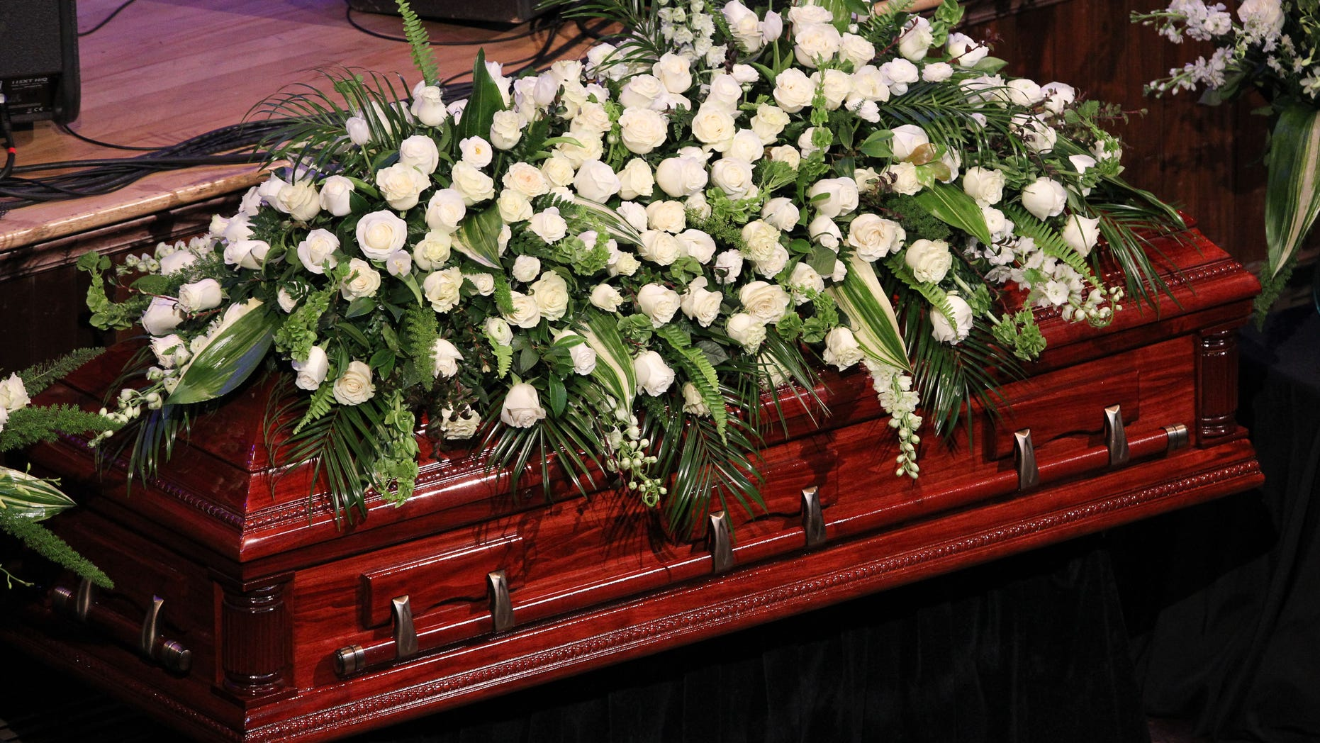 NASHVILLE, TN - JUNE 15:  A general view of the atmosphere at the Funeral of Jim Ed Brown at the Ryman Auditorium on June 15, 2015 in Nashville, Tennessee. Brown died Thursday, June 11th at Williamson Medical Center in Franklin, TN after battling cancer.  (Photo by Terry Wyatt/Getty Images)