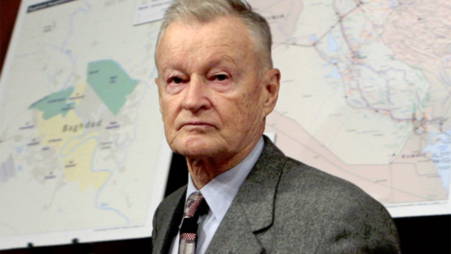 FILE 2007: Zbigniew Brzezinski arrives on Capitol Hill in Washington
