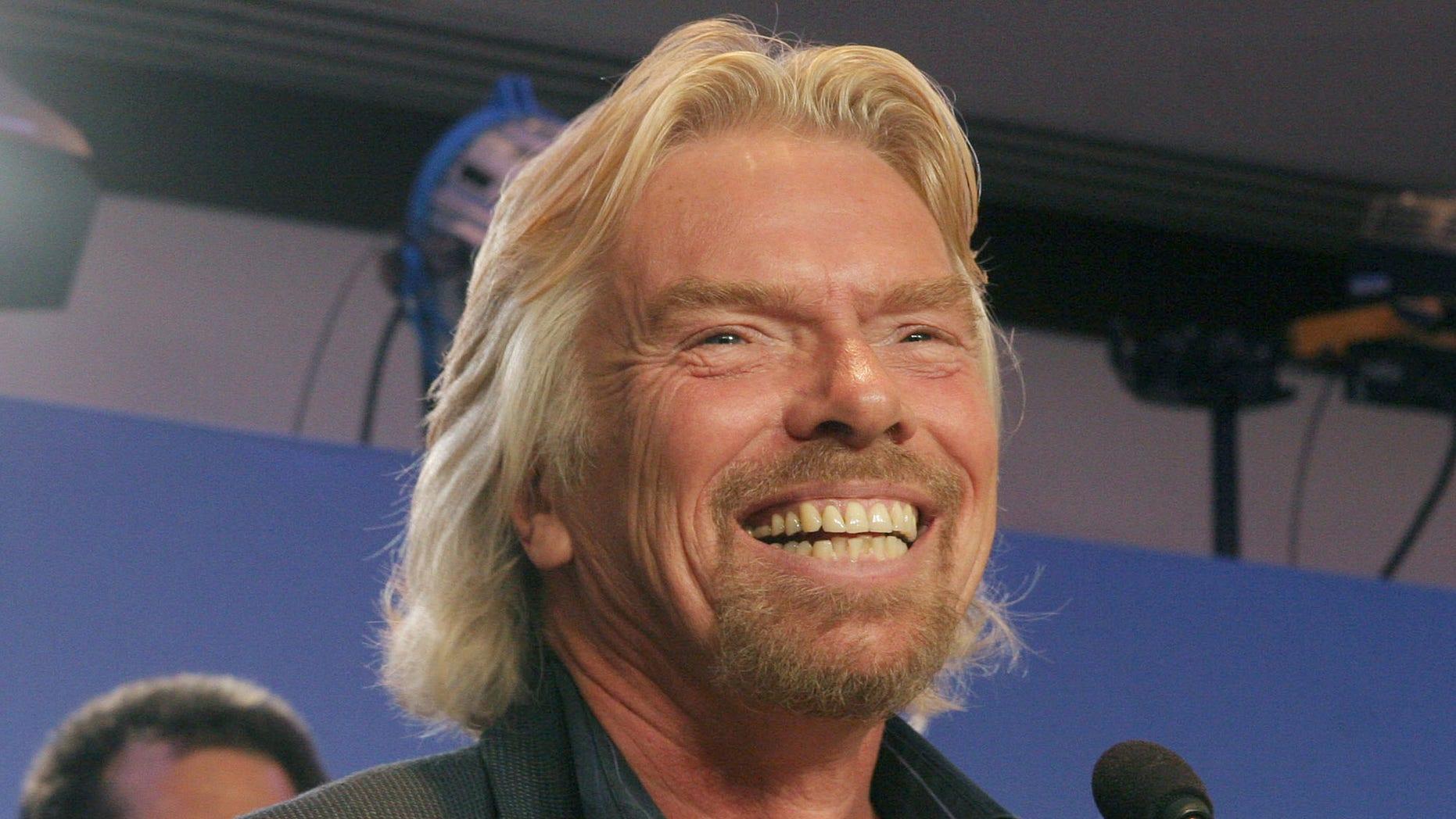 Richard Branson revealed a UN statement that would have called for drug decriminalization. (AP Photo/Tina Fineberg)