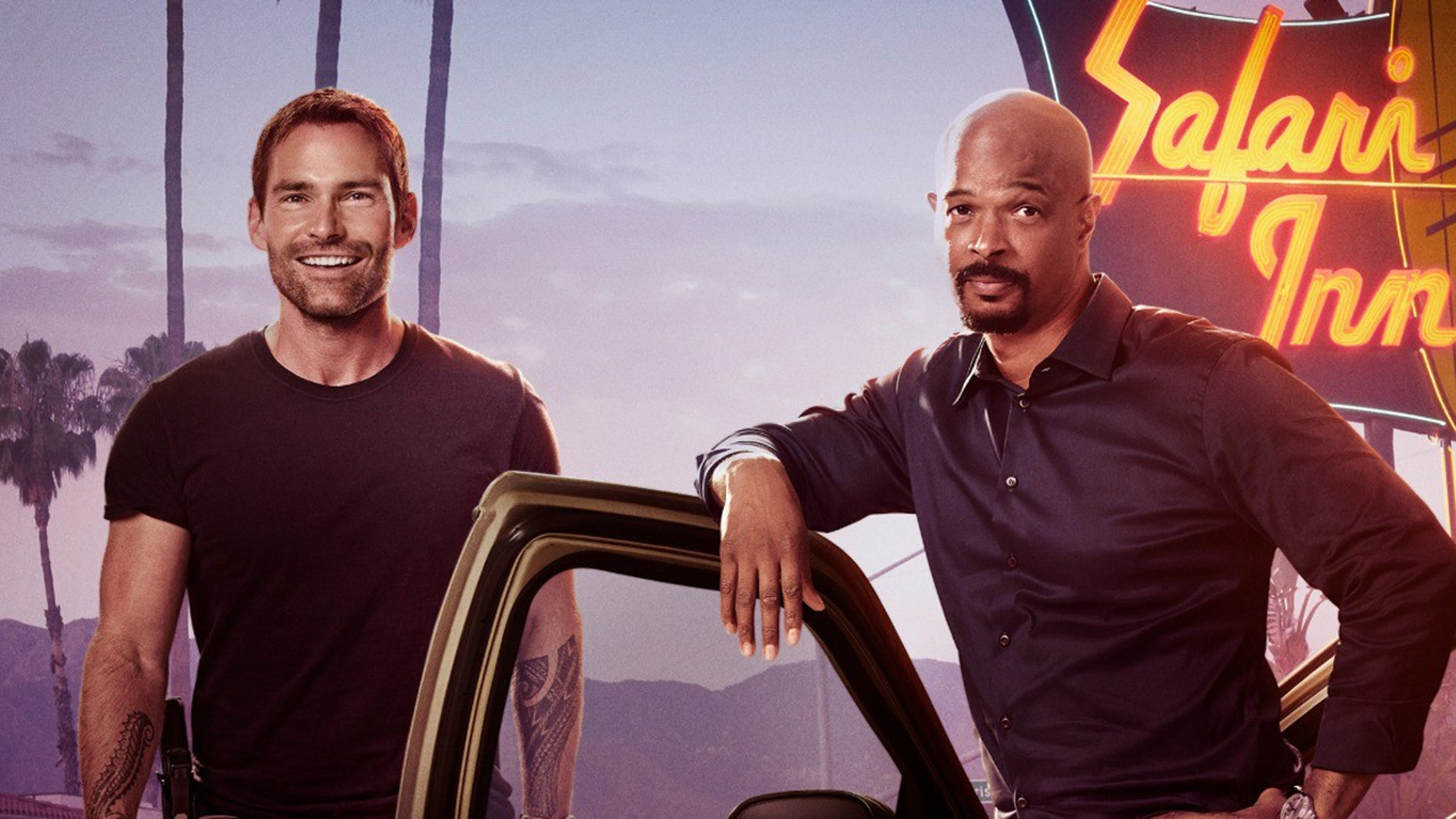 """Damon Wayans joins new co-host Seann William Scott in the Season 3 promo for """"Lethal Weapon"""" after Clayne Crawford's exit earlier this year."""