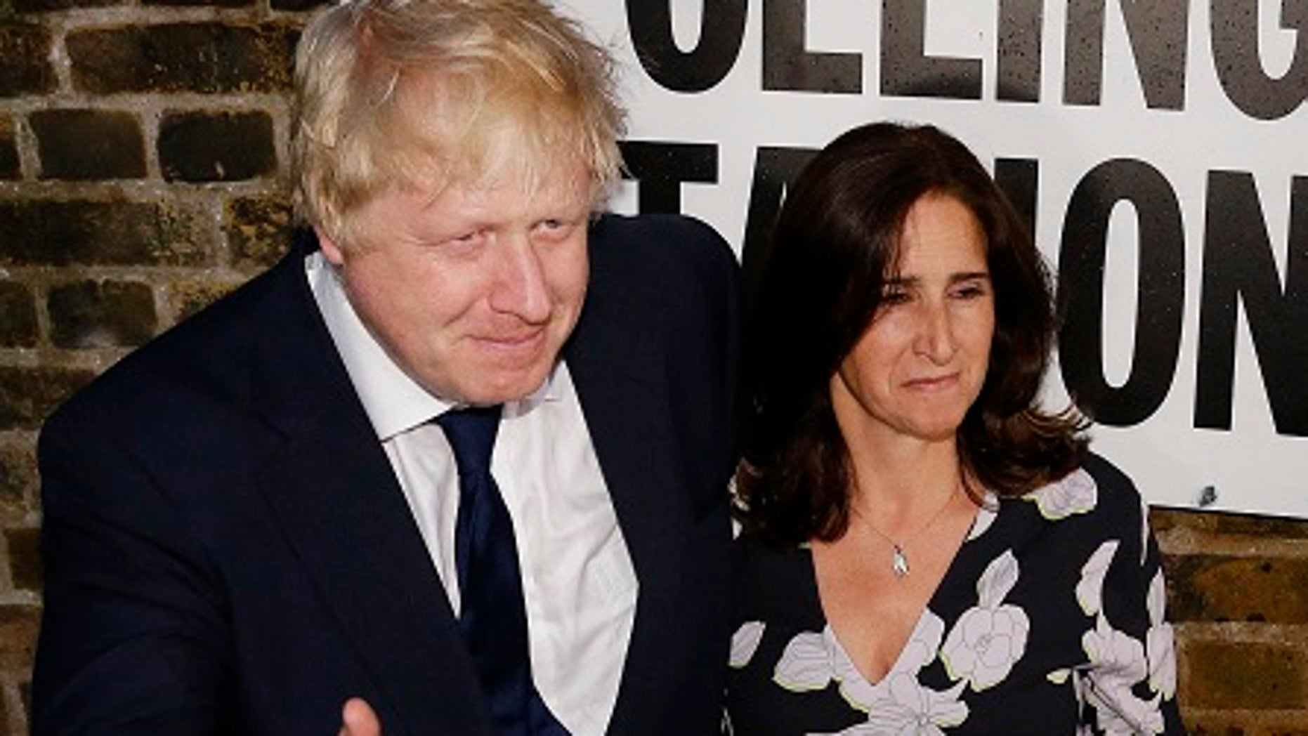 Boris Johnson and his wife Marina Wheeler are in the process of divorcing.
