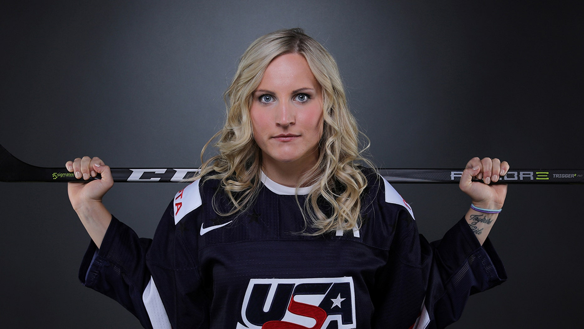 "Hockey player Monique Lamoureux-Morando says she'd ""absolutely"" wear black at Pyeongchang."