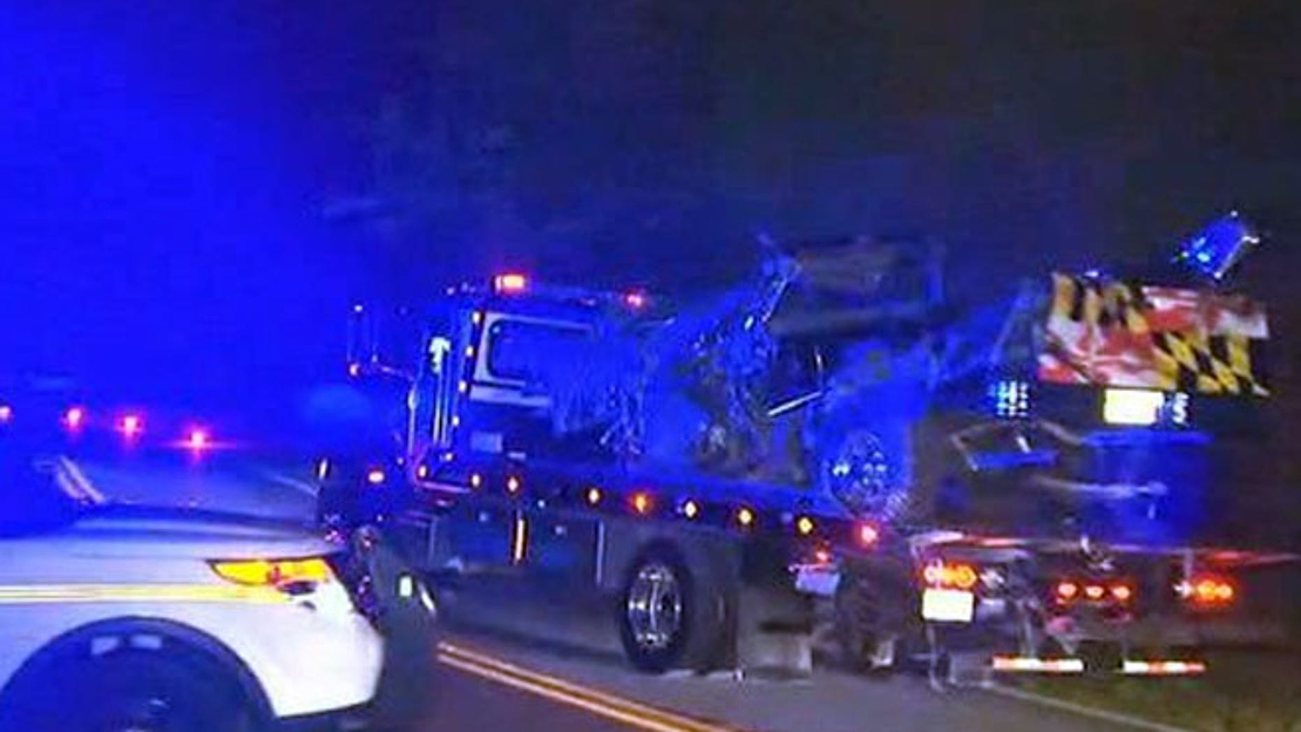 Three Maryland high school students died Tuesday night in a car crash.