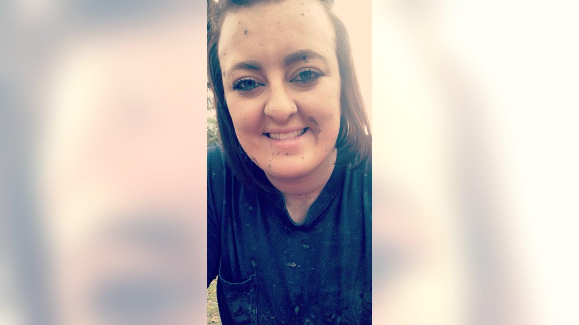 Kourtney Lambert, 23, was killed by lightning over the weekend.