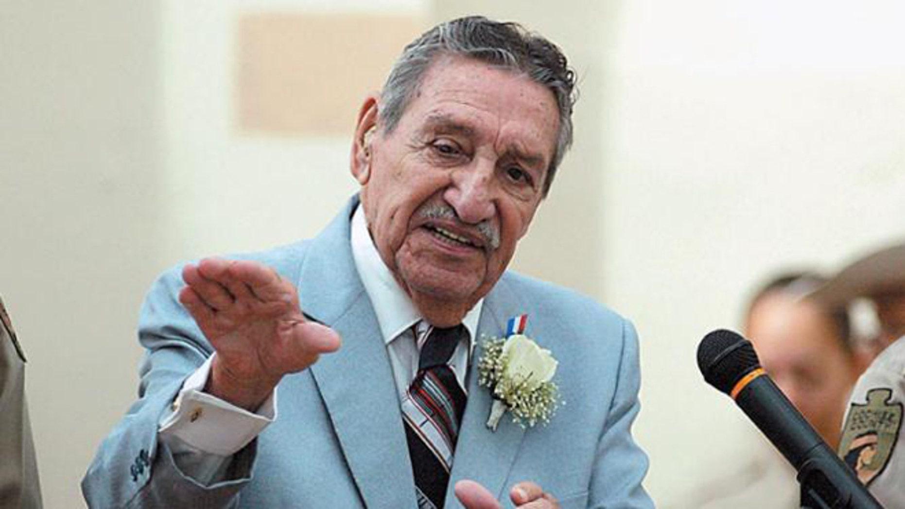 Raul Hector Castro in a 2006 file photo.