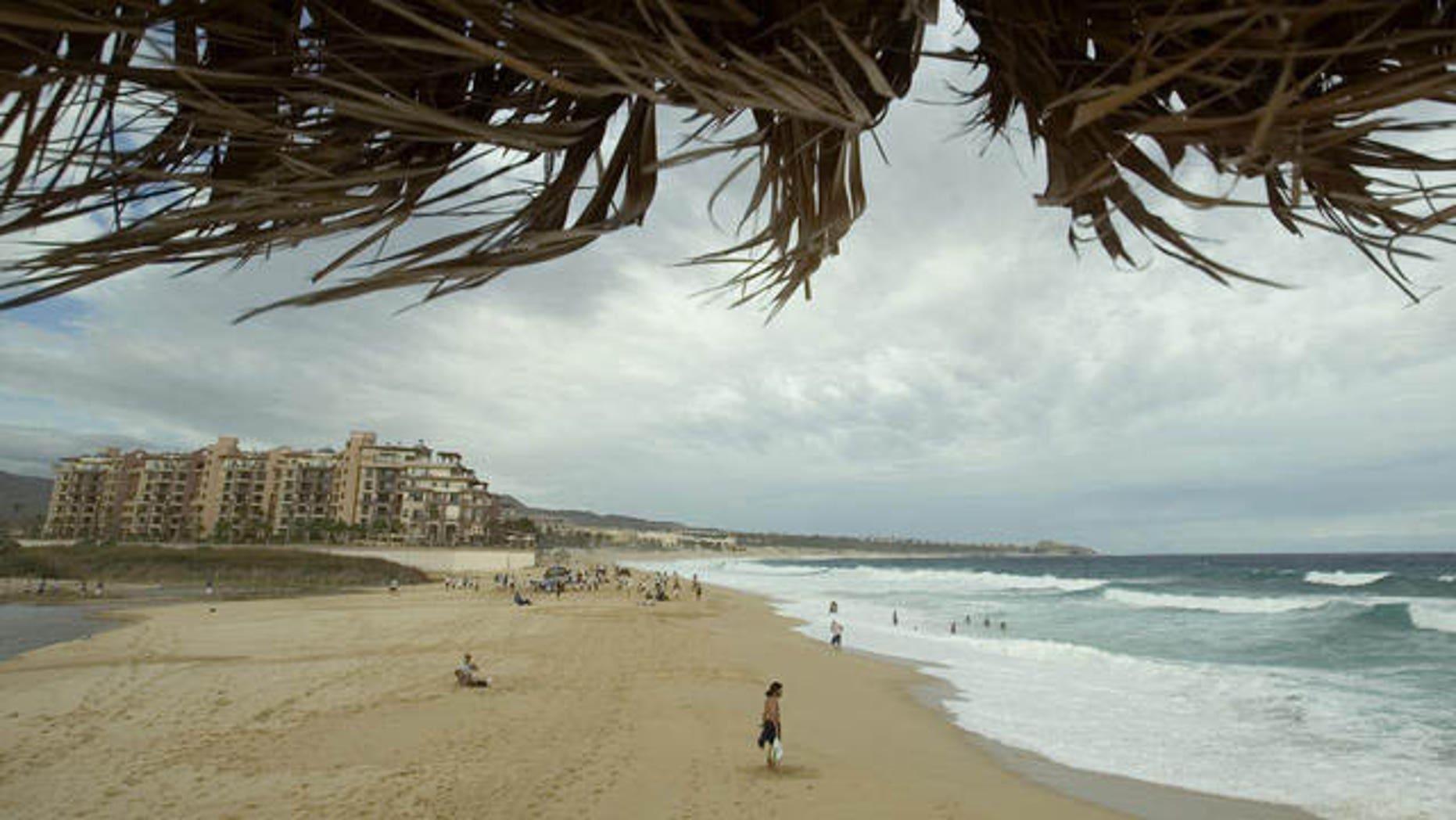 A view of the beach at Cabo San Lucas, Mexico (AP Photo)