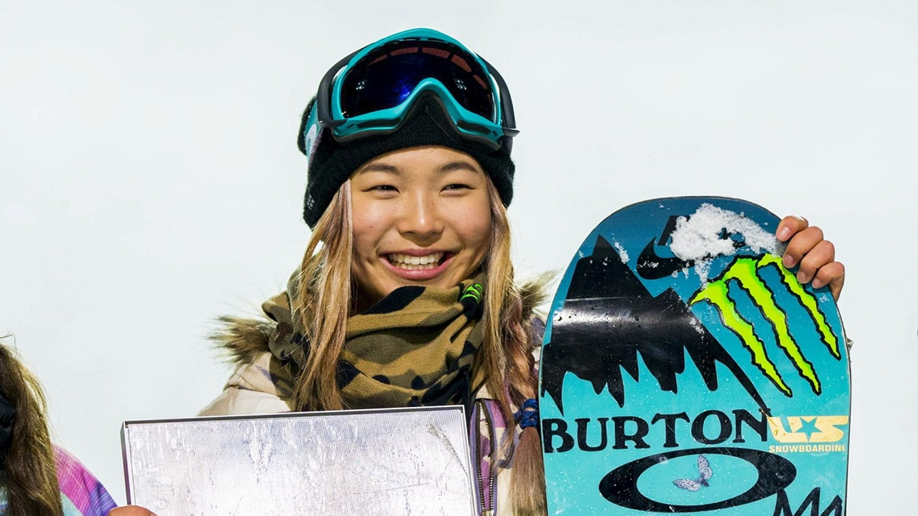 U.S. Olympic snowboarder Chloe Kim, of Torrance, Calif., is seen at the X Games in Oslo, Feb. 26, 2016.