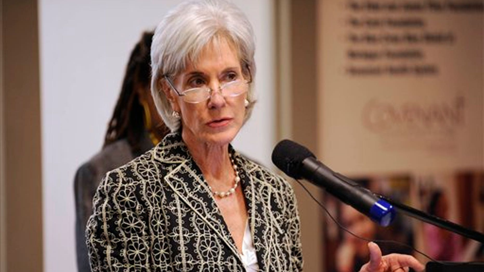 June 20: Health and Human Services Secretary Kathleen Sebelius makes an announcement about community health centers, at Covenant Community Care, Inc. in Detroit.