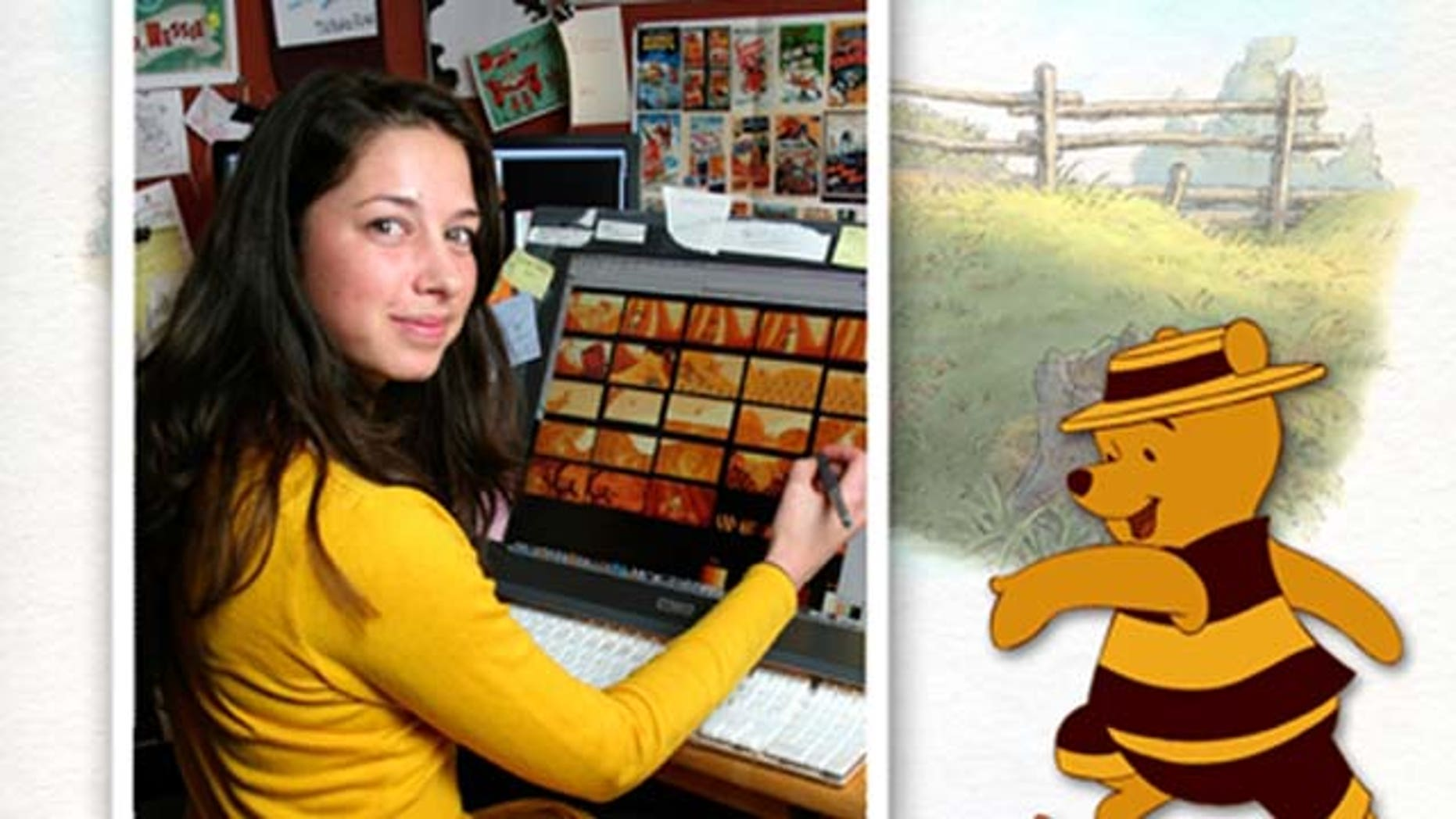 "July 15, 2011: Lorelay Bové brings Winnie the Pooh to life in ""Winnie the Pooh"" the movie out in theaters on Friday."