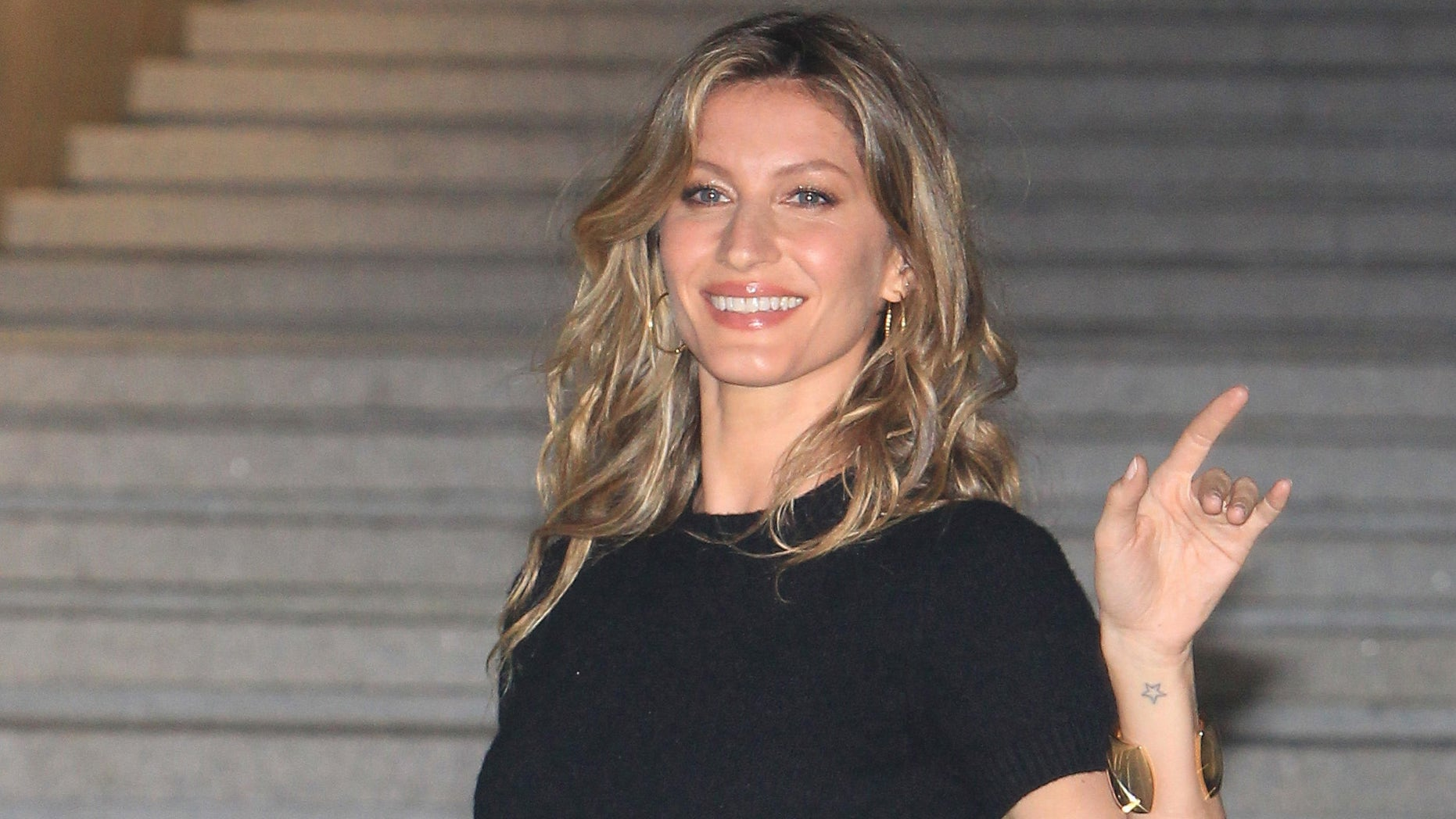 Gisele Bundchen on May 4, 2015 in Seoul, South Korea.