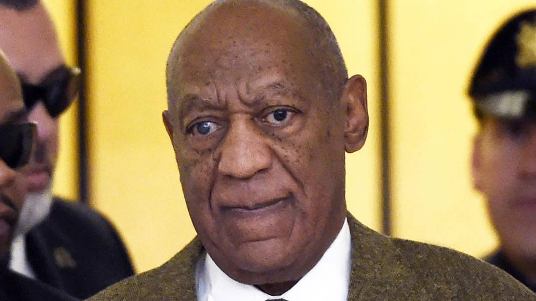 In this Feb. 2, 2016 file photo, actor and comedian Bill Cosby arrives for a court appearance in Norristown, Pa.