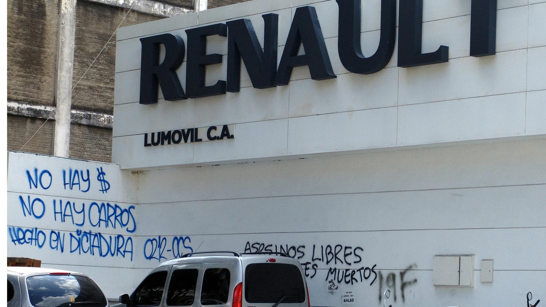 A car dealership in Caracas. (Photo: Angel Bermúdez/Fox News Latino)