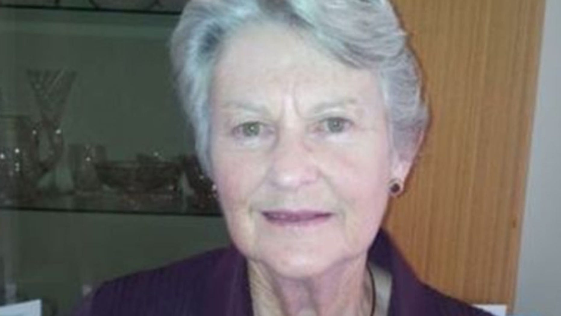 FILE: Anne Cameron's clothes and walking stick were found near a creek bank about a mile from her nursing home.
