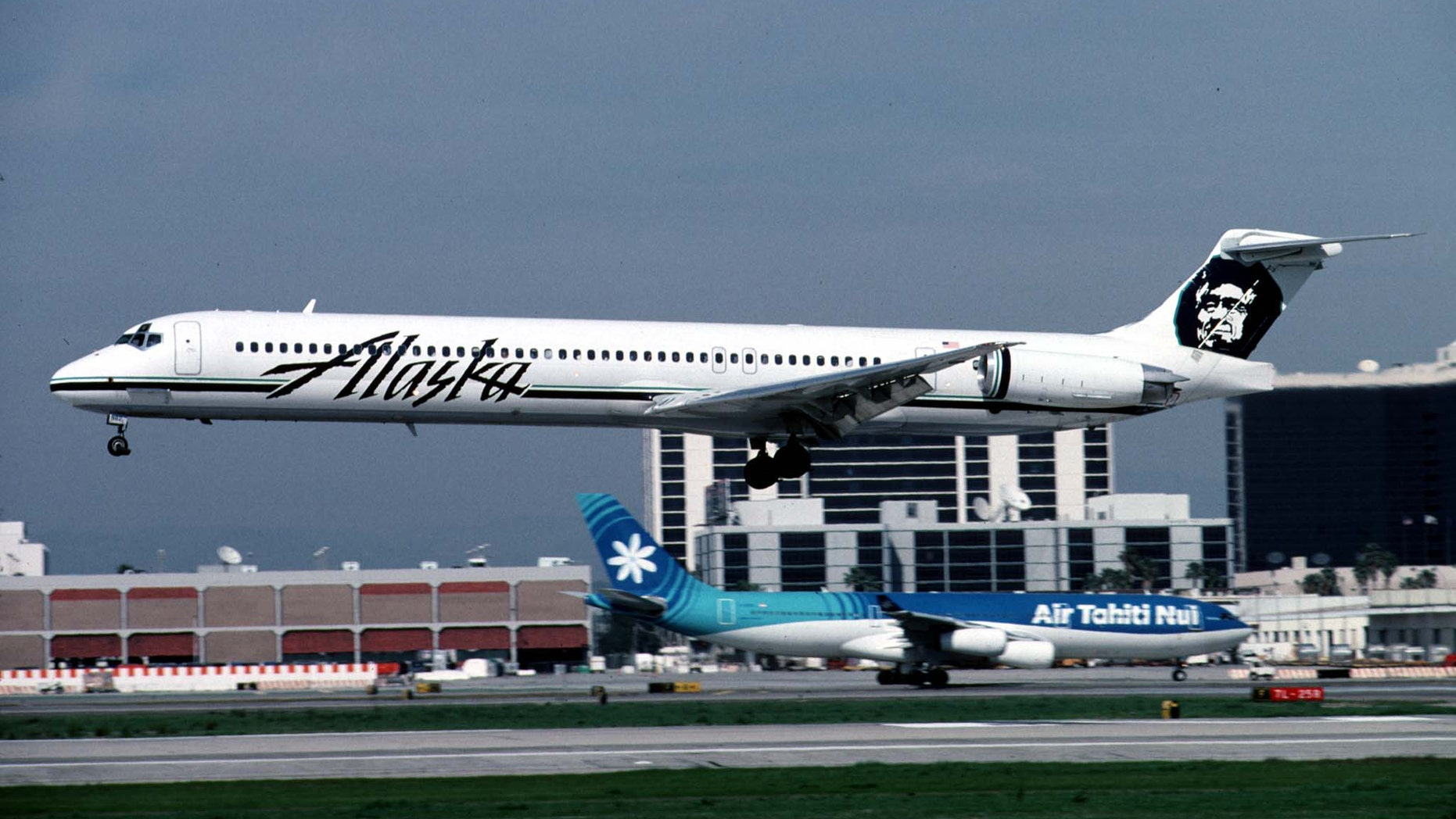 Alaska Airlines completed a historic cross-country trip Monday.