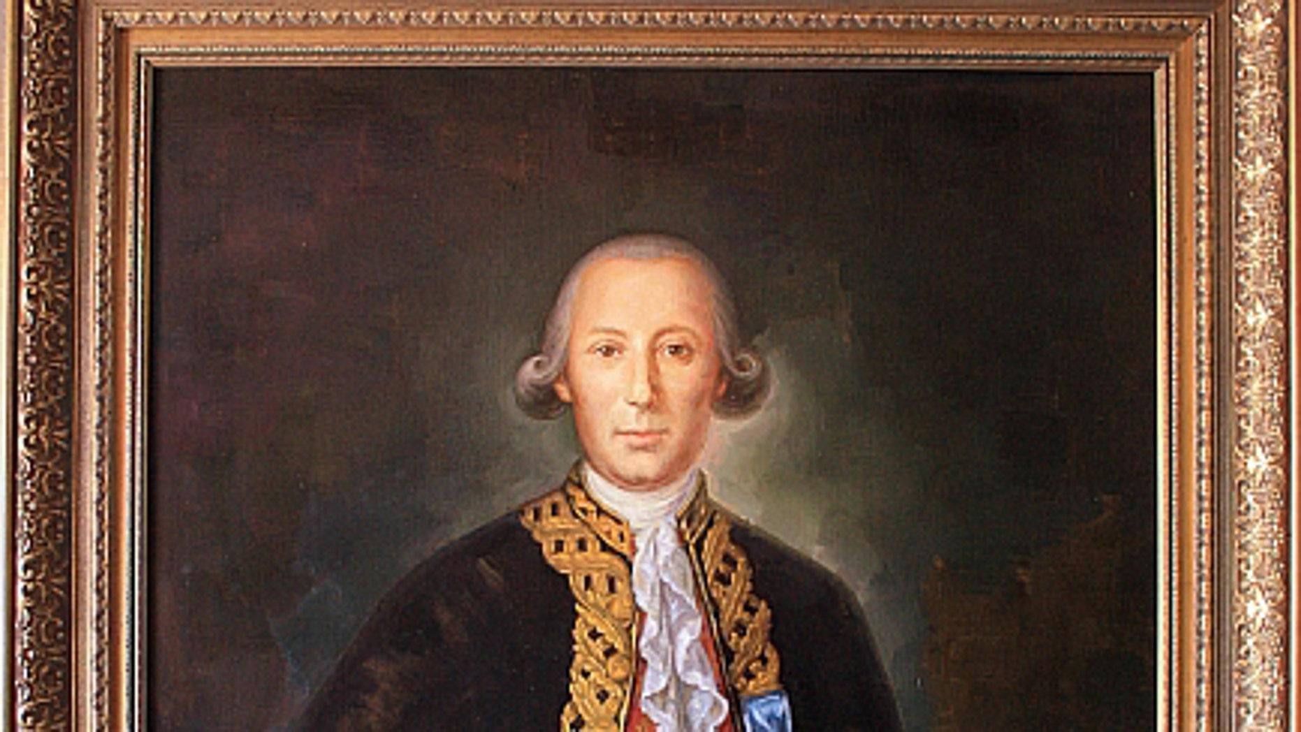 Spanish-born Revolutionary War hero Bernardo de Galvez.
