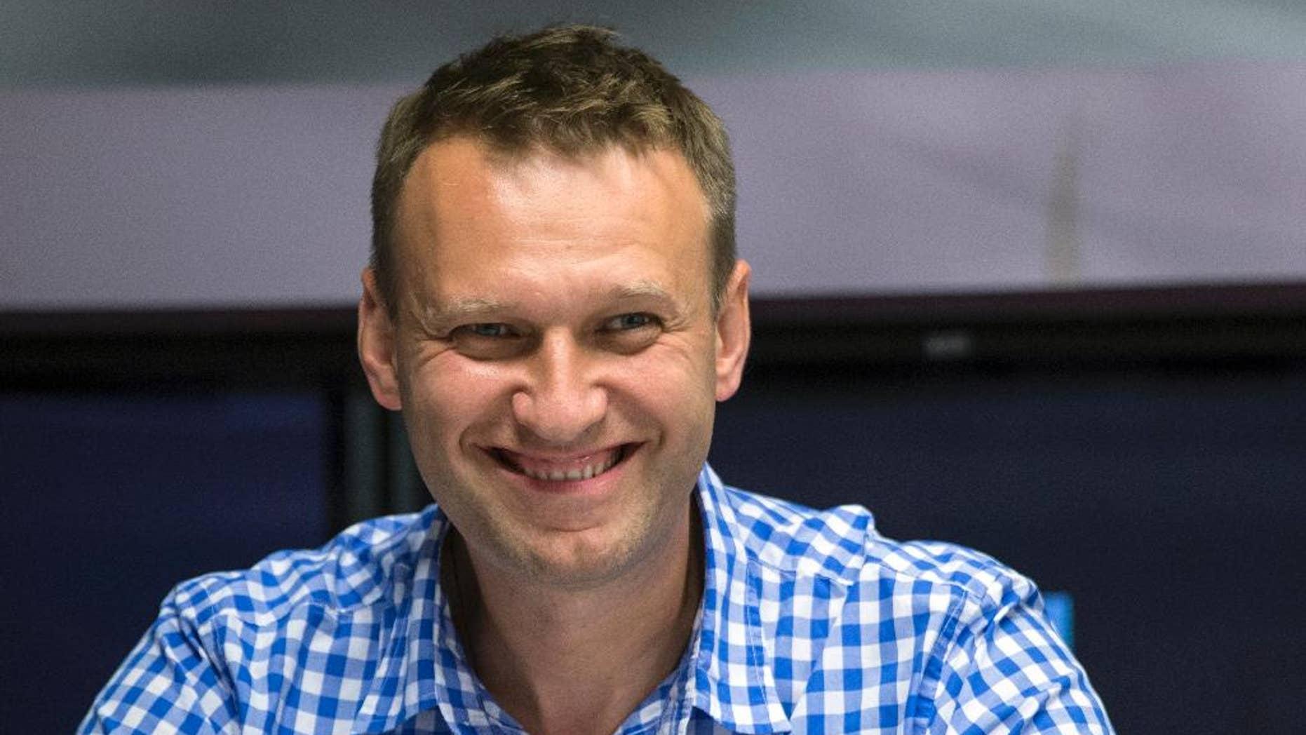 Alexei Navalny in July 2015.