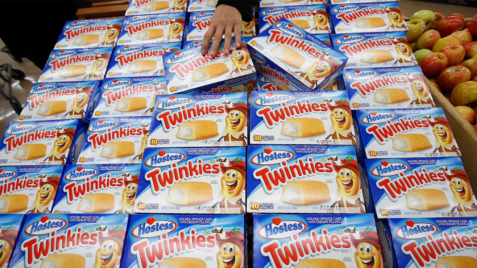Employees of Hostess just found of the company will be giving them a year's worth of free Twinkies and Ding Dongs as part of their bonus.
