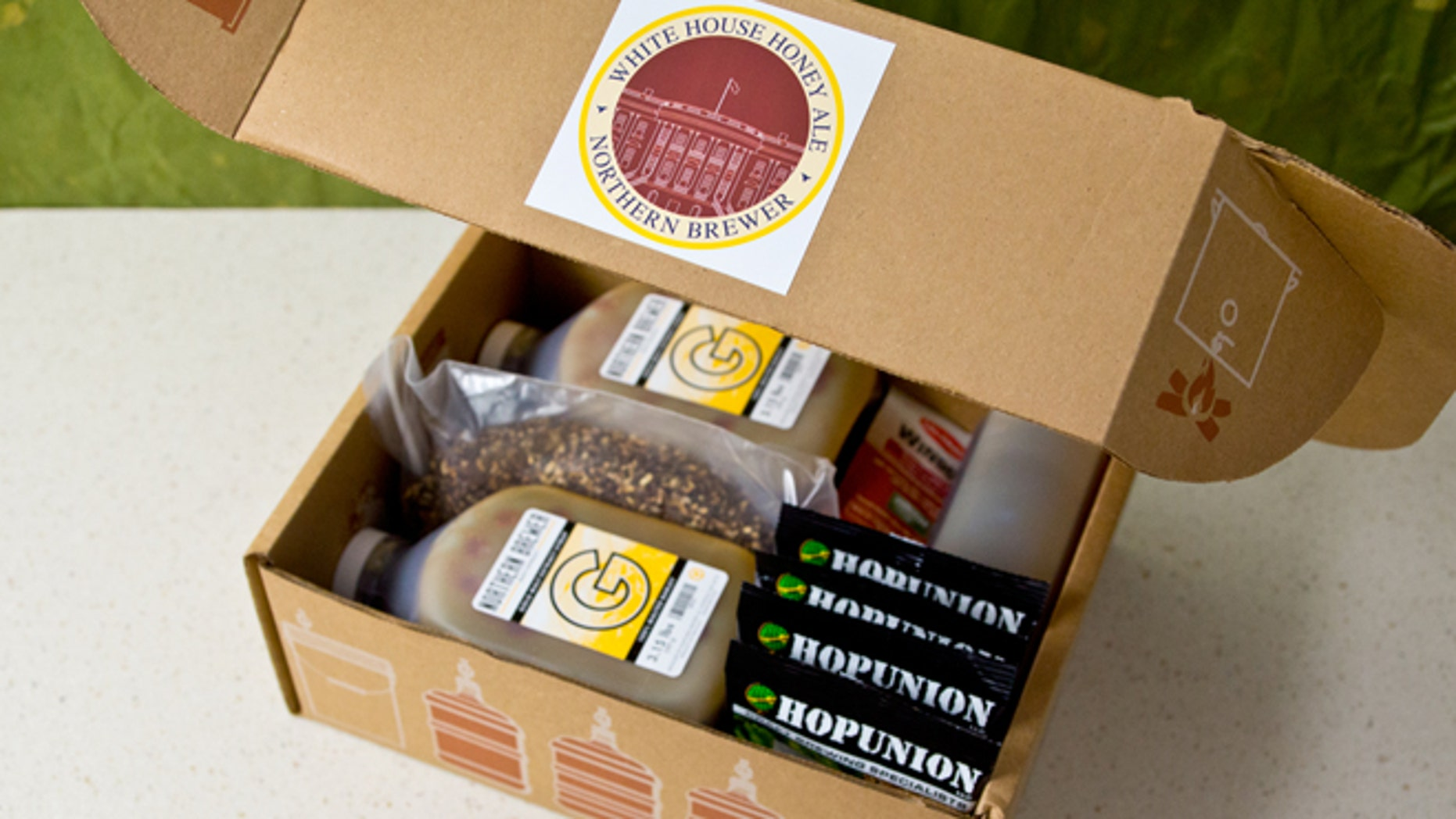 One of the White House homebrew kits sold by Northern Homebrew Supply.