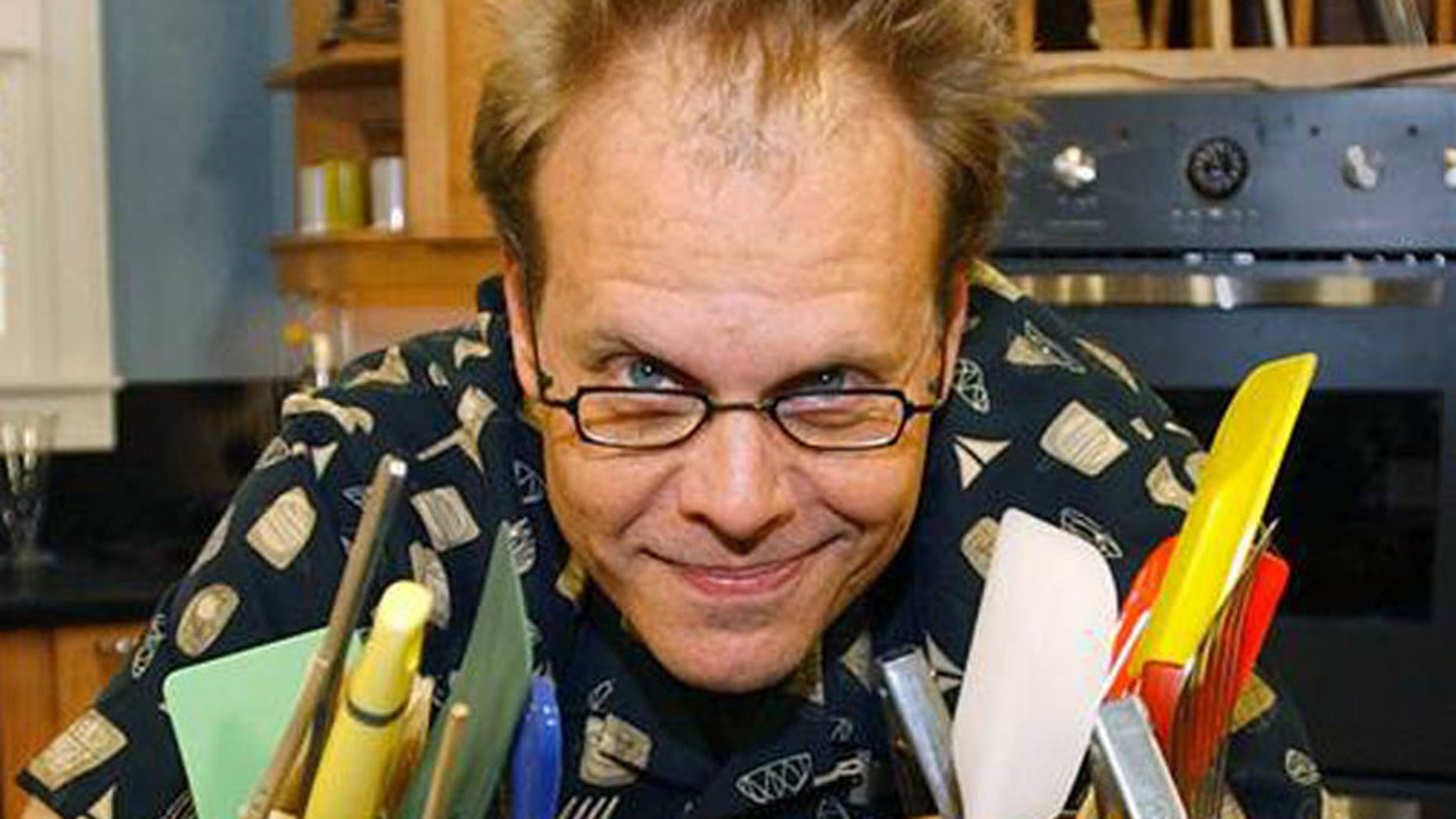 """Alton Brown says all the """"unitasker"""" kitchen gadgets will force you to build a bigger house."""