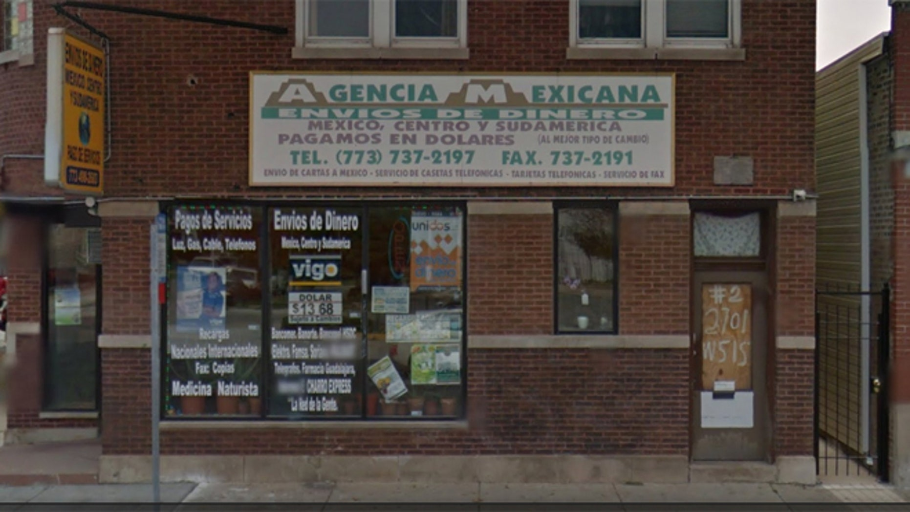 A patron with a concealed carry permit shot a would-be robber at a business in Chicago.