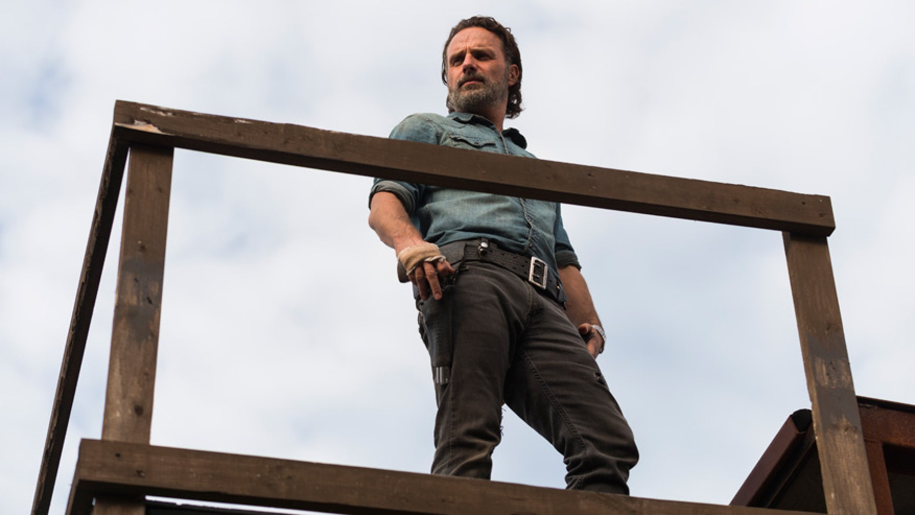 "Andrew Lincoln stars as Rick Grimes in AMC's ""The Walking Dead."""