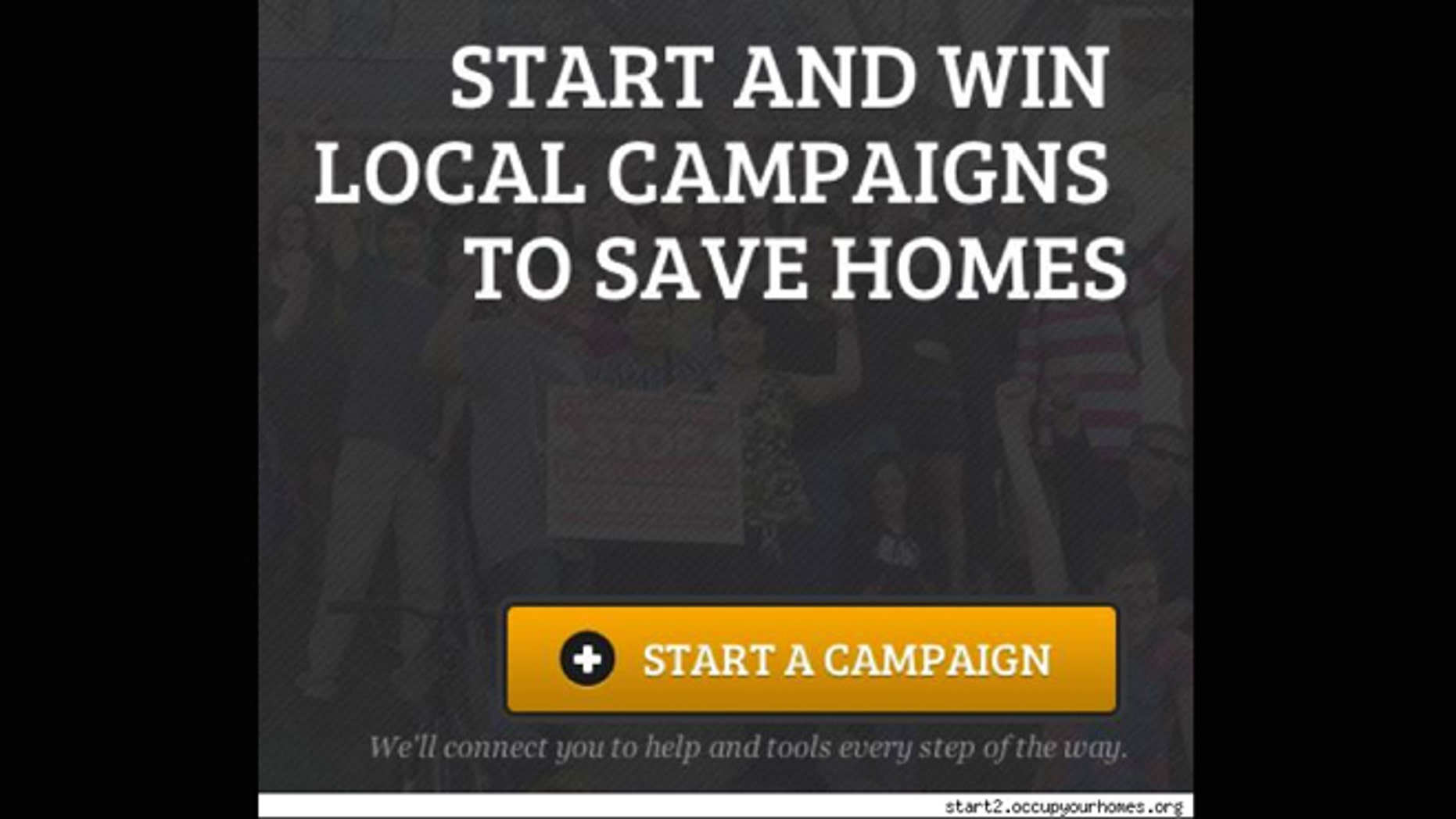 Occupy Our Homes launches national TV ad campaign to fight