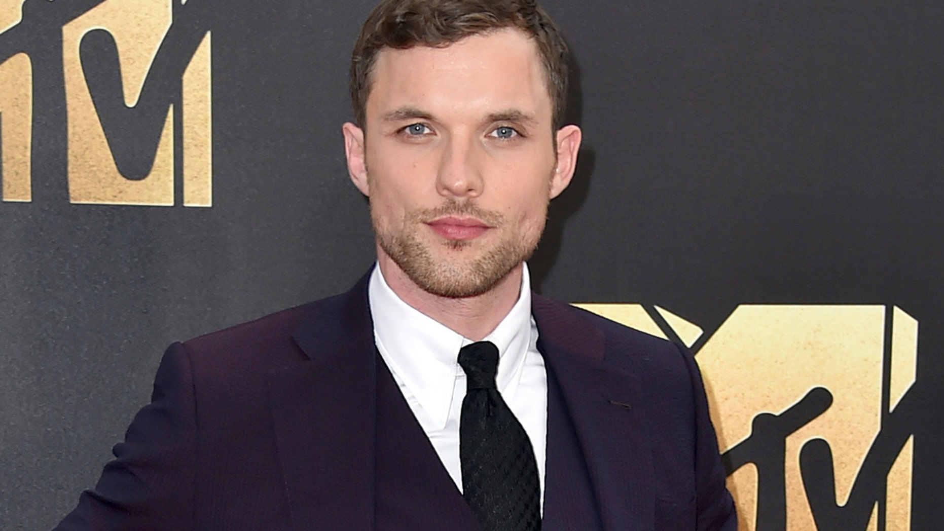 """In this April 9, 2016 file photo, Ed Skrein arrives at the MTV Movie Awards in Burbank, Calif. Skrein was cast as Ben Daimio in the """"Hellboy"""" reboot """"Rise of the Blood Queen."""" Many are objecting to the role not going to an Asian-American actor. The character is Japanese-American in Mike Mignola's """"Hellboy"""" comics."""