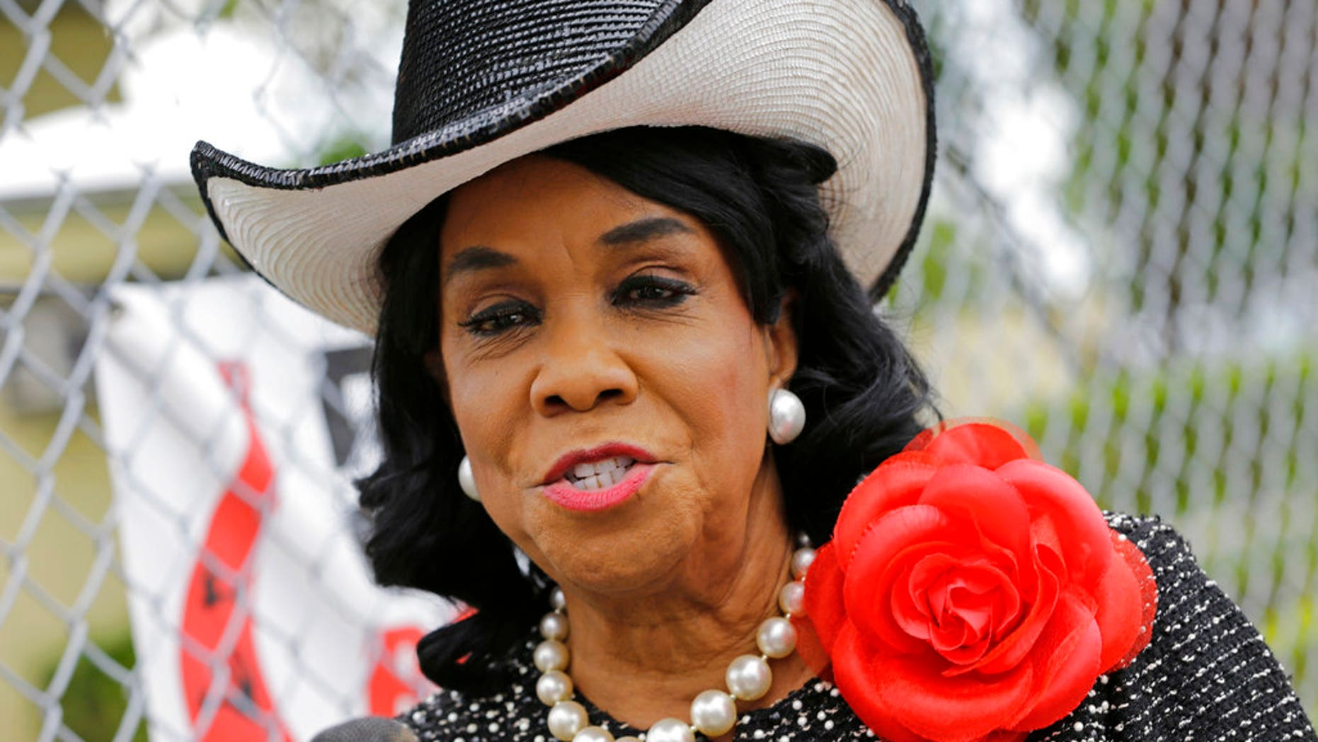 Rep. Frederica Wilson won't honor President Trump with her presence at the State of the Union address.