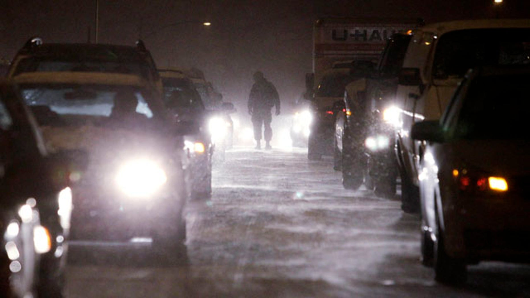 Nov. 22: Drivers were stuck for hours throughout the Puget Sound region, as Washington state was hit by its first significant snowfall of the season.