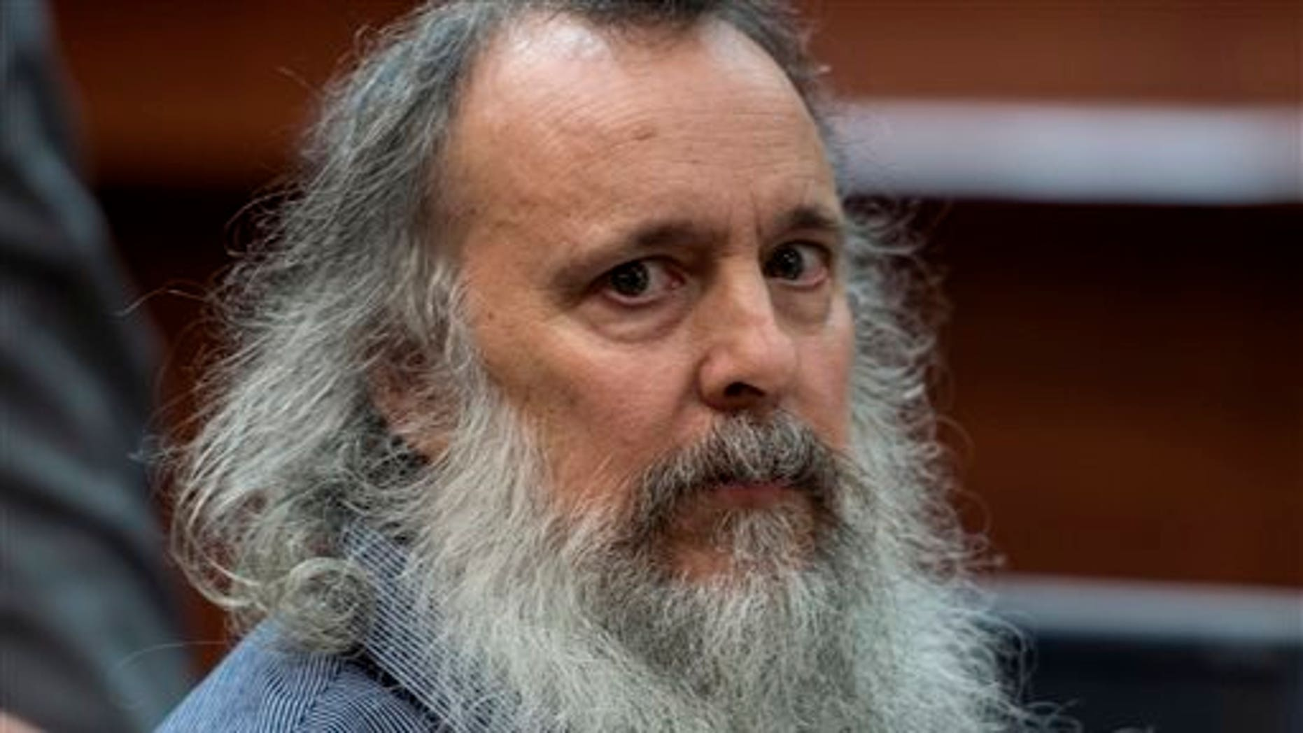 Charles Severance in court Wednesday.