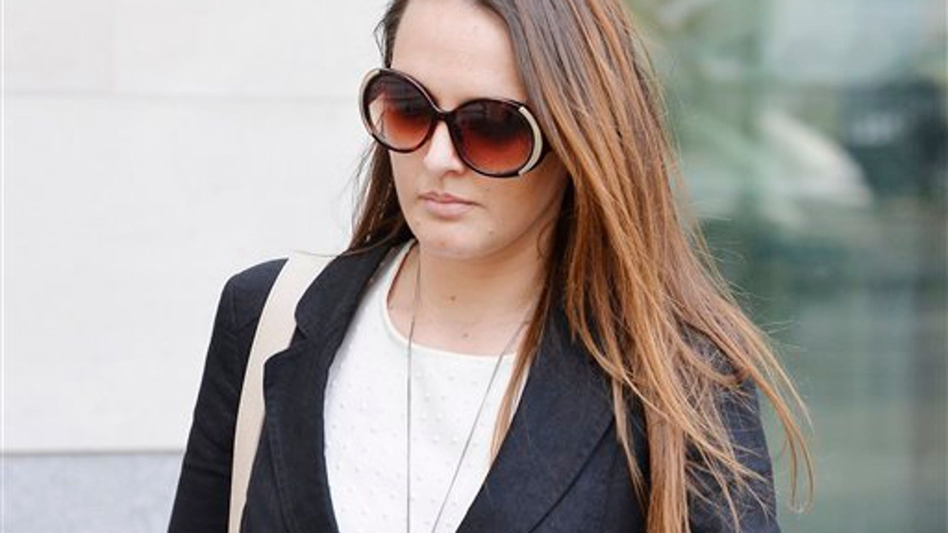 Meerkat expert Caroline Westlake was sentenced in London Wednesday. (John Stillwell/PA via AP)