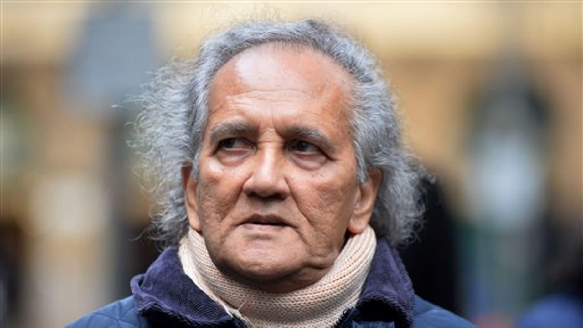 Maoist cult leader Aravindan Balakrishnan in London.