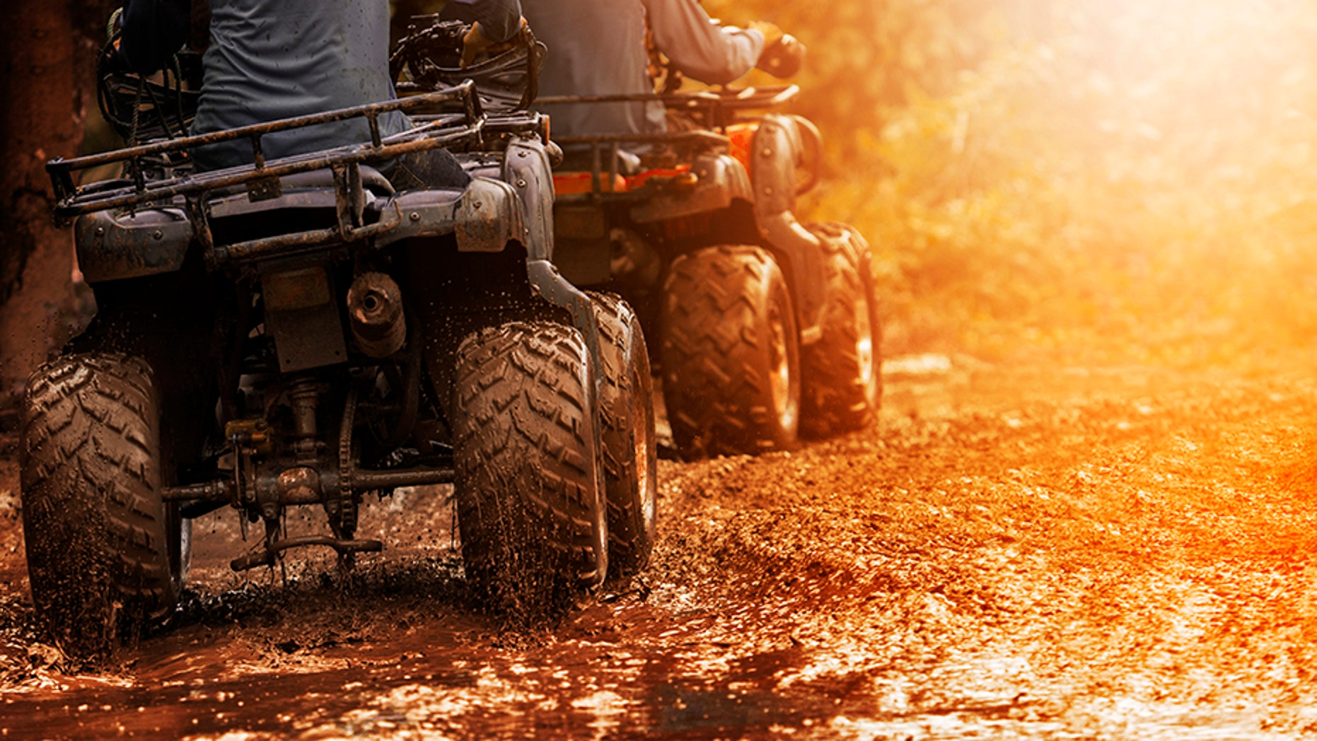 Webster County Sheriff Jim Stubbs was riding his ATV along a U.S. highway.