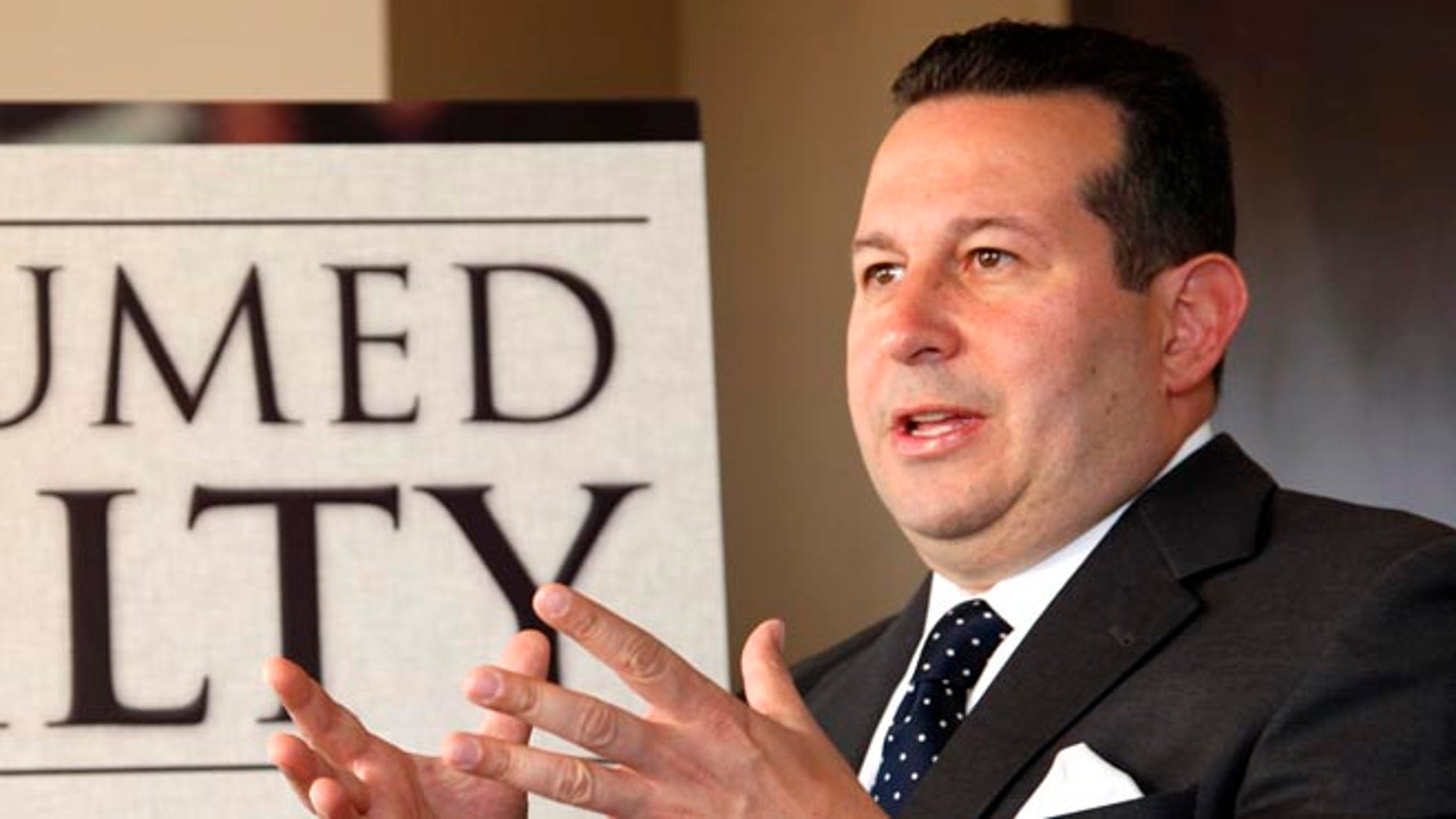 Attorney Jose Baez in a July 3, 2012 file photo.
