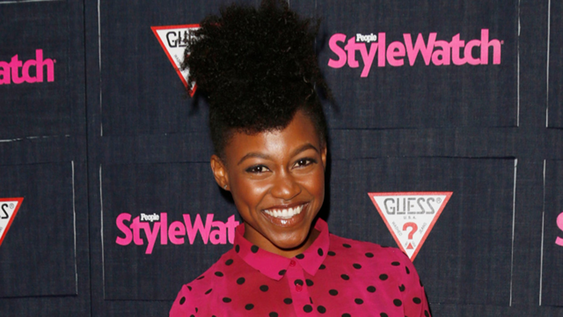 FILE -- In this Sept. 20, 2012 file photo, Daniele Watts attends The Hollywood Denim Party at Palihouse in West Hollywood. (Photo by Todd Williamson/Invision/AP, File)