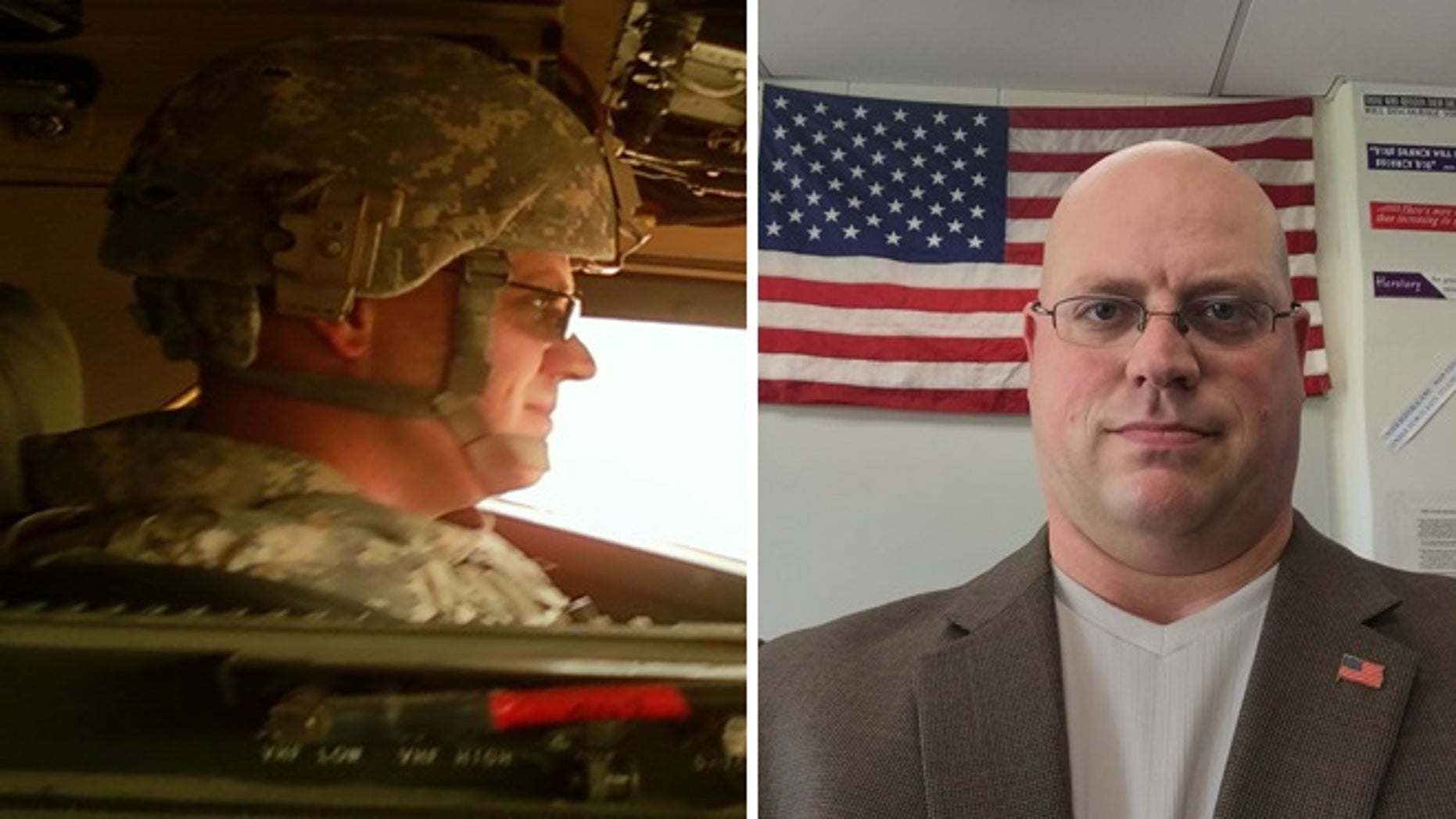 Adam Neuman left the classroom in Michigan to serve in the army in Afghanistan.