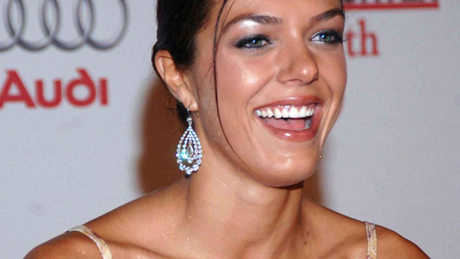"""""""My Fair Brady"""" star Adrianne Curry."""