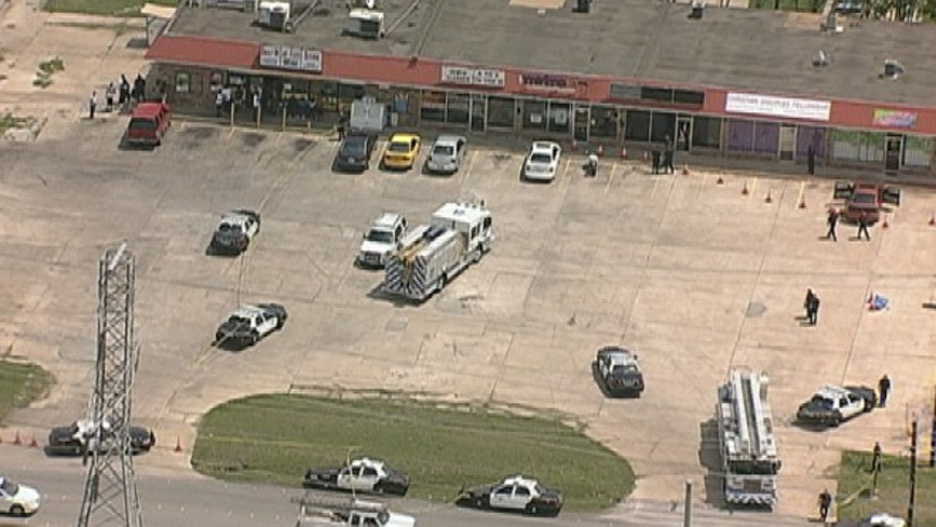 Police say a would-be robber was shot dead by a person with a concealed handgun license Tuesday afternoon outside a shopping center in Ft. Worth, Texas.