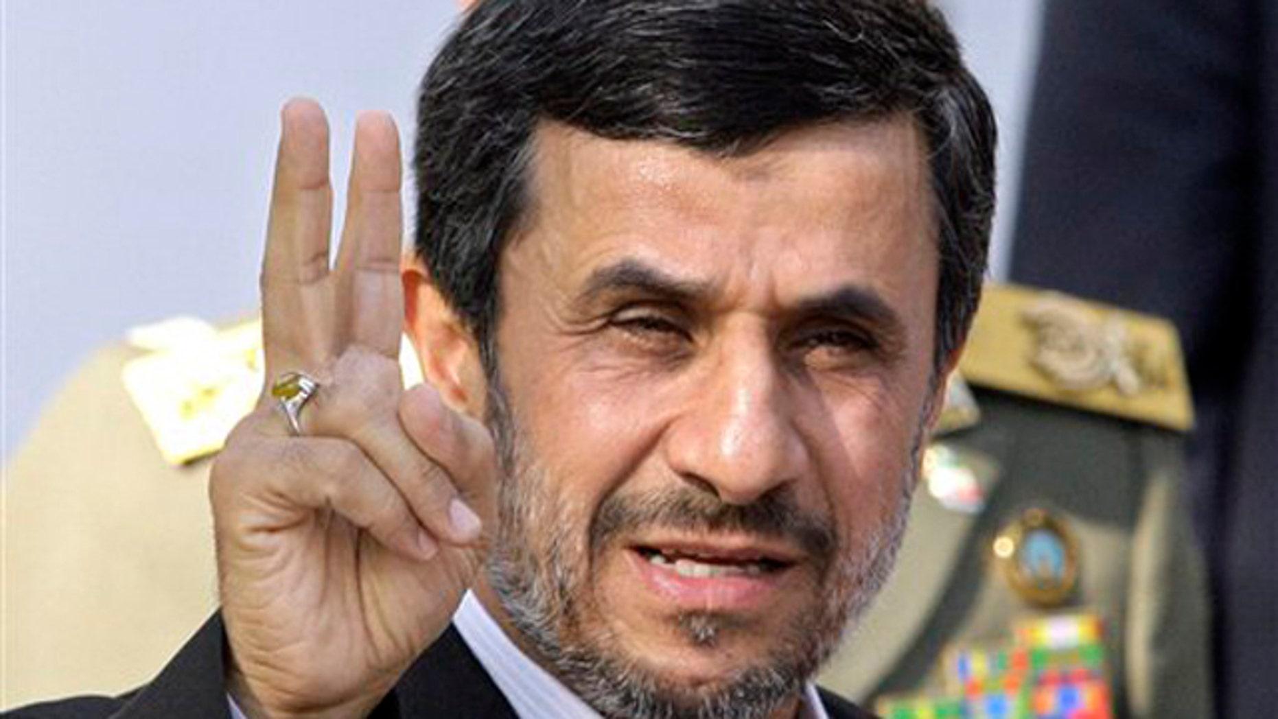 Iranian President Mahmoud Ahmadinejad's regime is ramping up its cyber warfare capabilities. (AP)