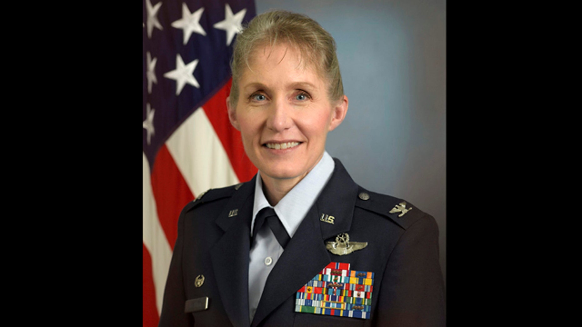 June 23, 2011: Photo released by the U.S. Air Force of Col. Jeannie Leavitt.
