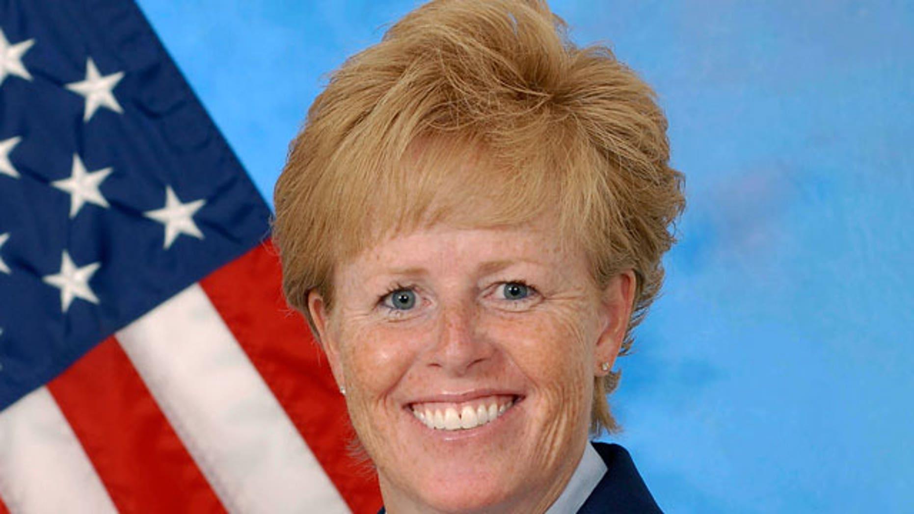 FILE PHOTO of U.S. Air Force Col. Deborah Liddick