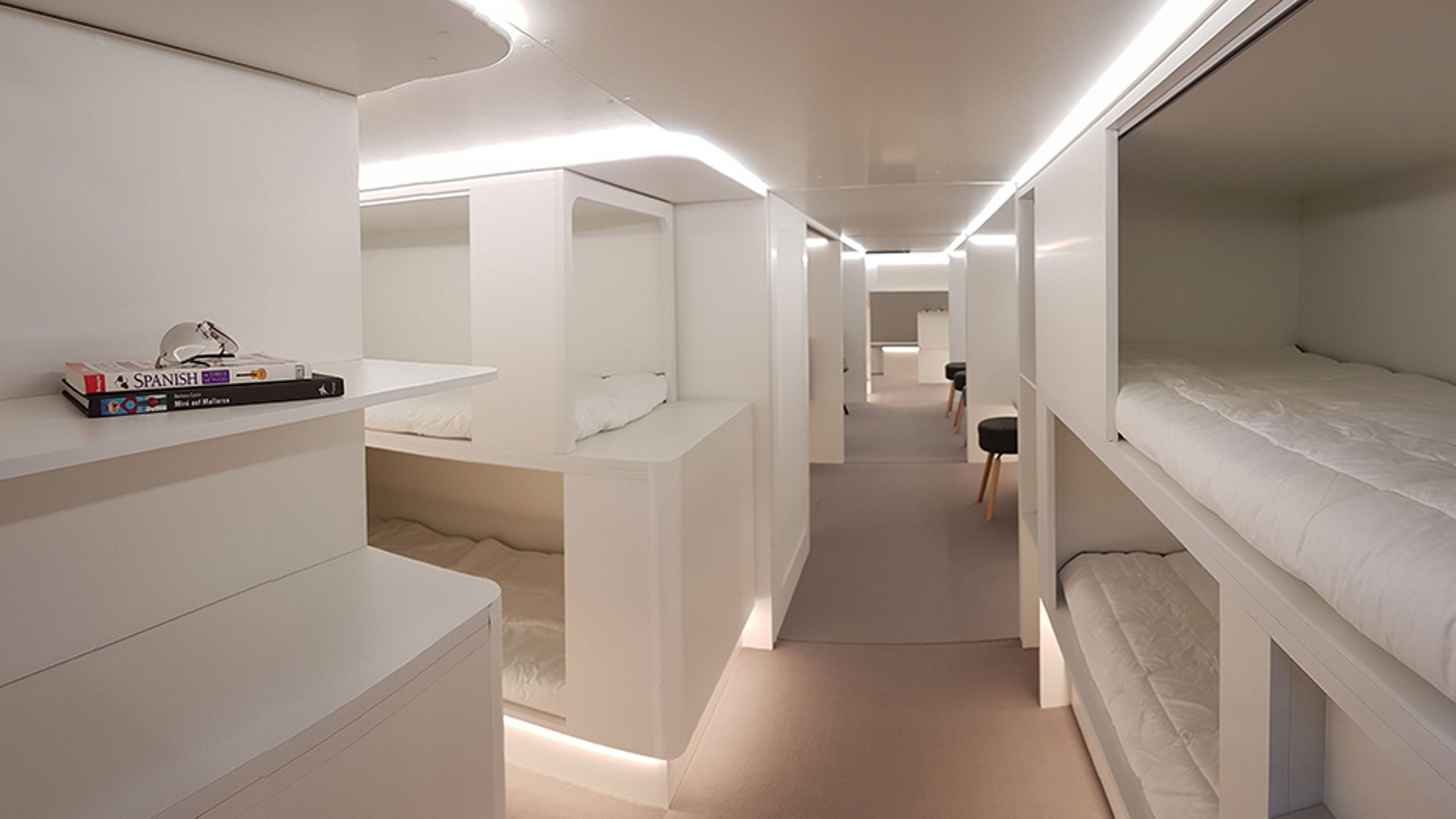 Airbus has teamed up with Zodiac Aerospace to design sleeper berths for airplane lower-deck cargo areas.