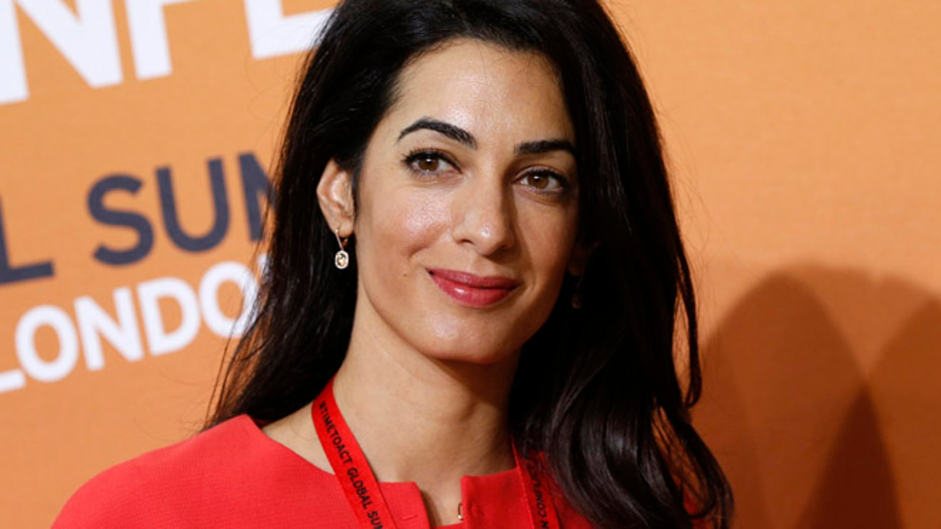 Human rights attorney Amal Alamuddin, George Clooney's fiancée, turned down a seat on a UN committee investigating human rights violations, paving the way for a controversial ex-judge to take the spot. (AP)