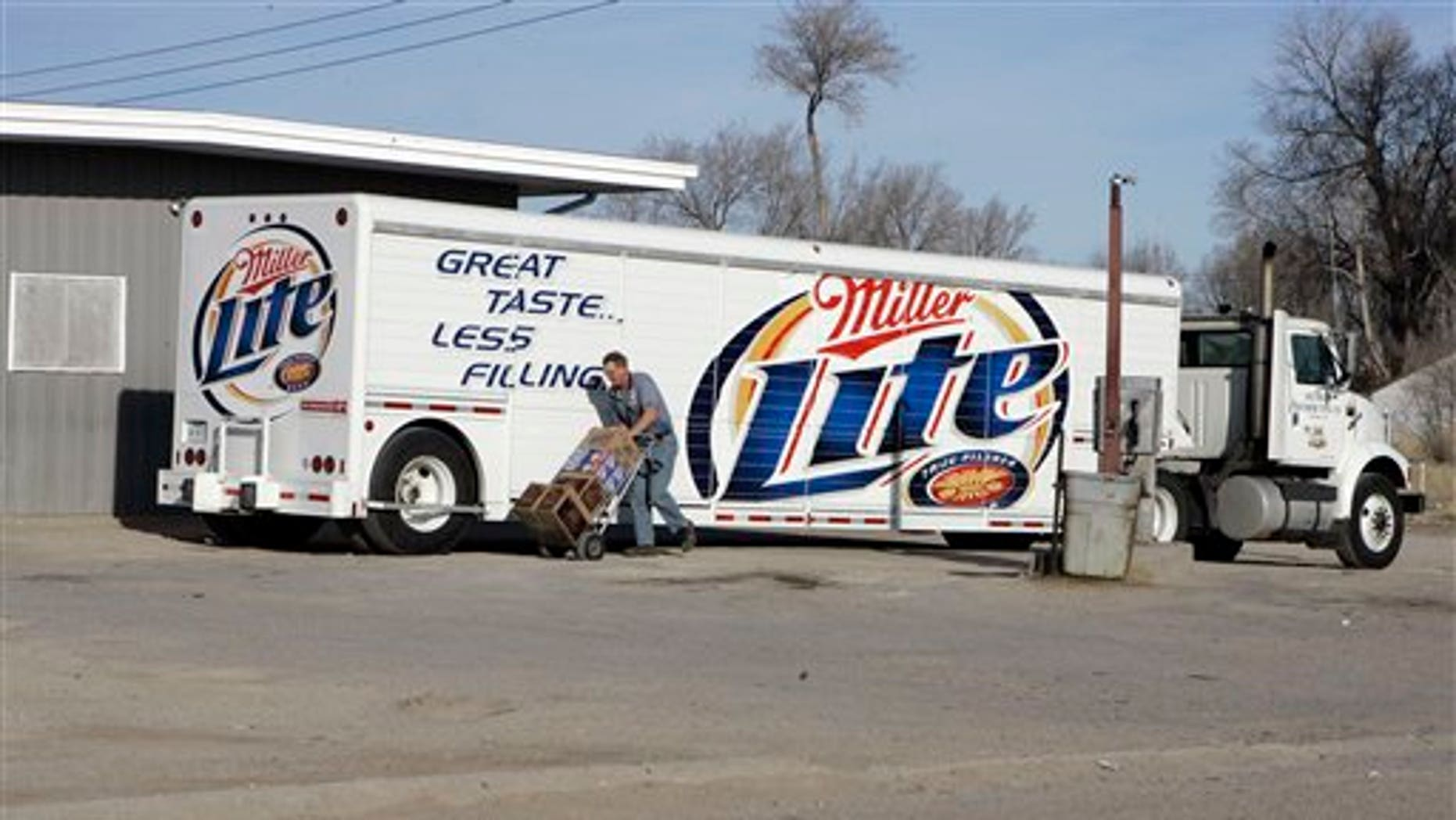 March 6, 2006: A shipment of beer is delivered to a store in Whiteclay, Neb.