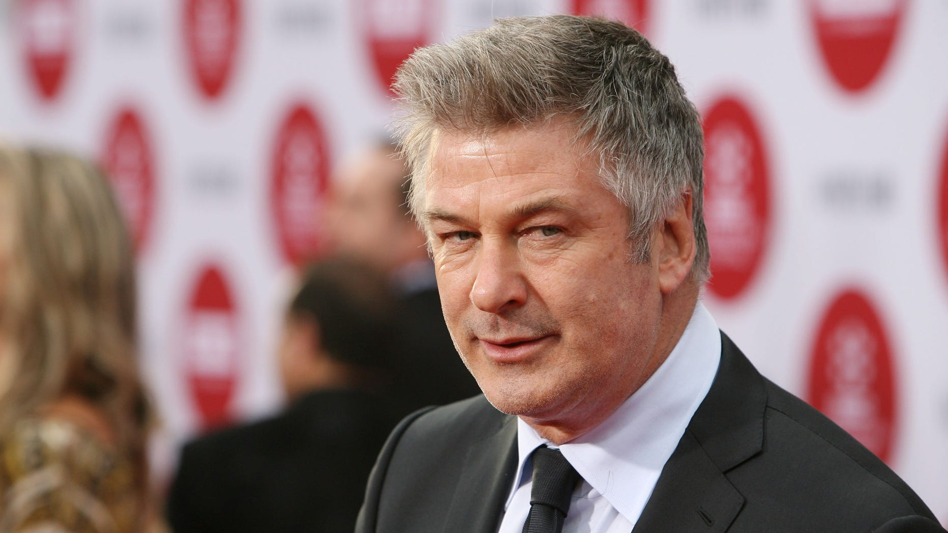 Alec Baldwin at TCL Chinese Theatre IMAX on April 10, 2014 in Hollywood, California.