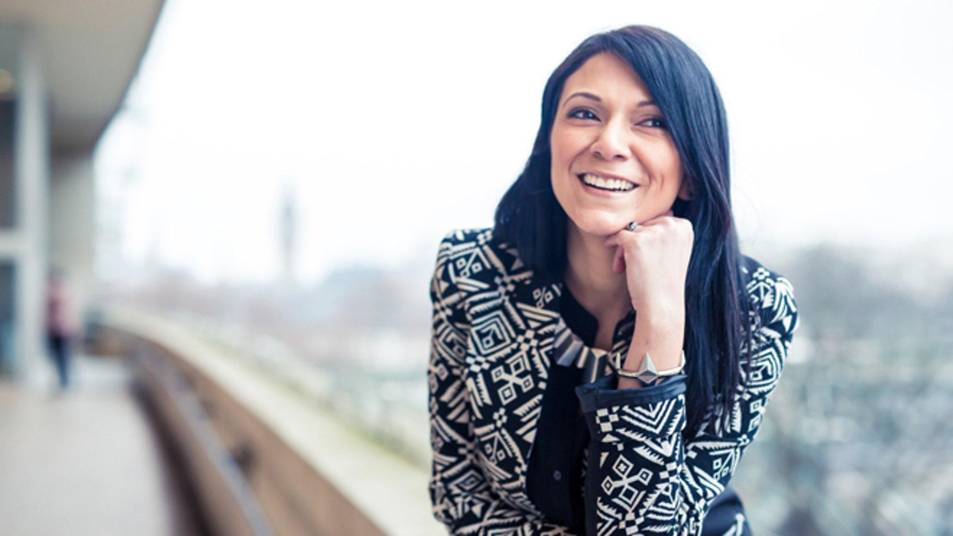 Alexandra Jimenez in London. (Photo: Maria Fernandez at Chio photography)