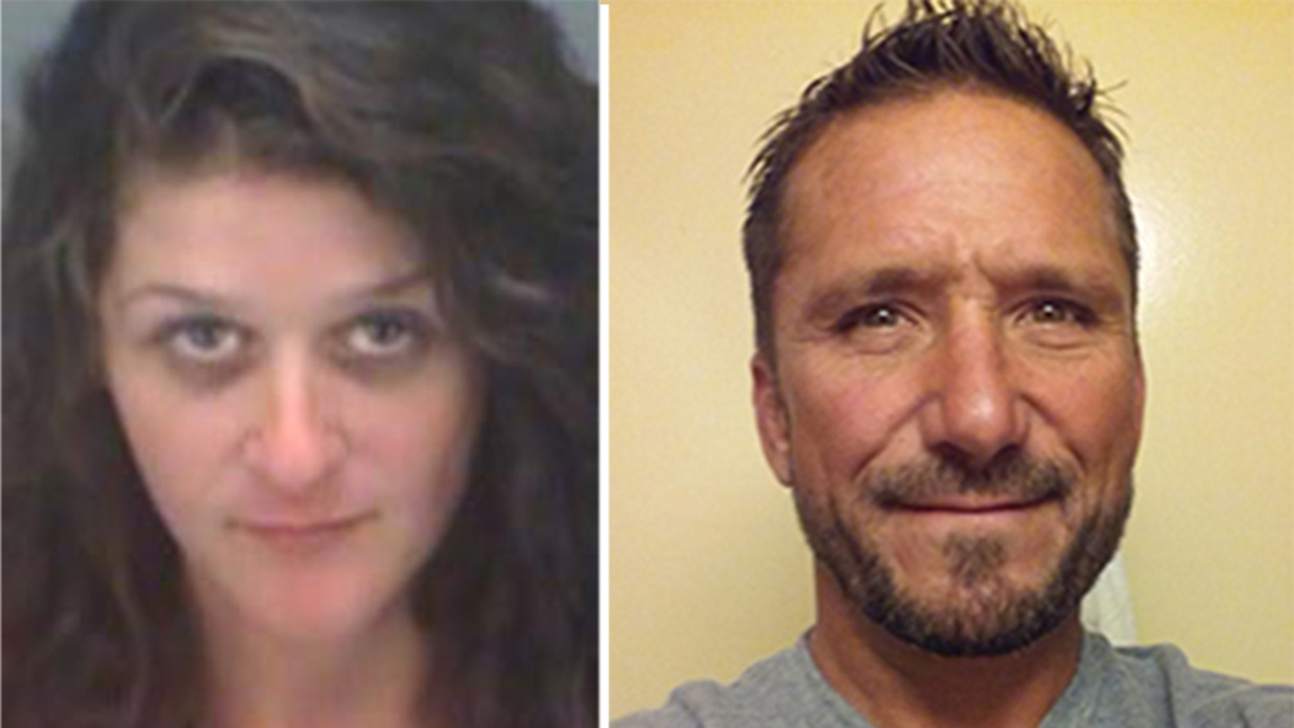 Alexandria Rowell, 26, of Winter Haven, and Jeffrey Kernan, 50, of Tampa, were arrested for having sex on a beach in front of families and children in Clearwater, Florida.