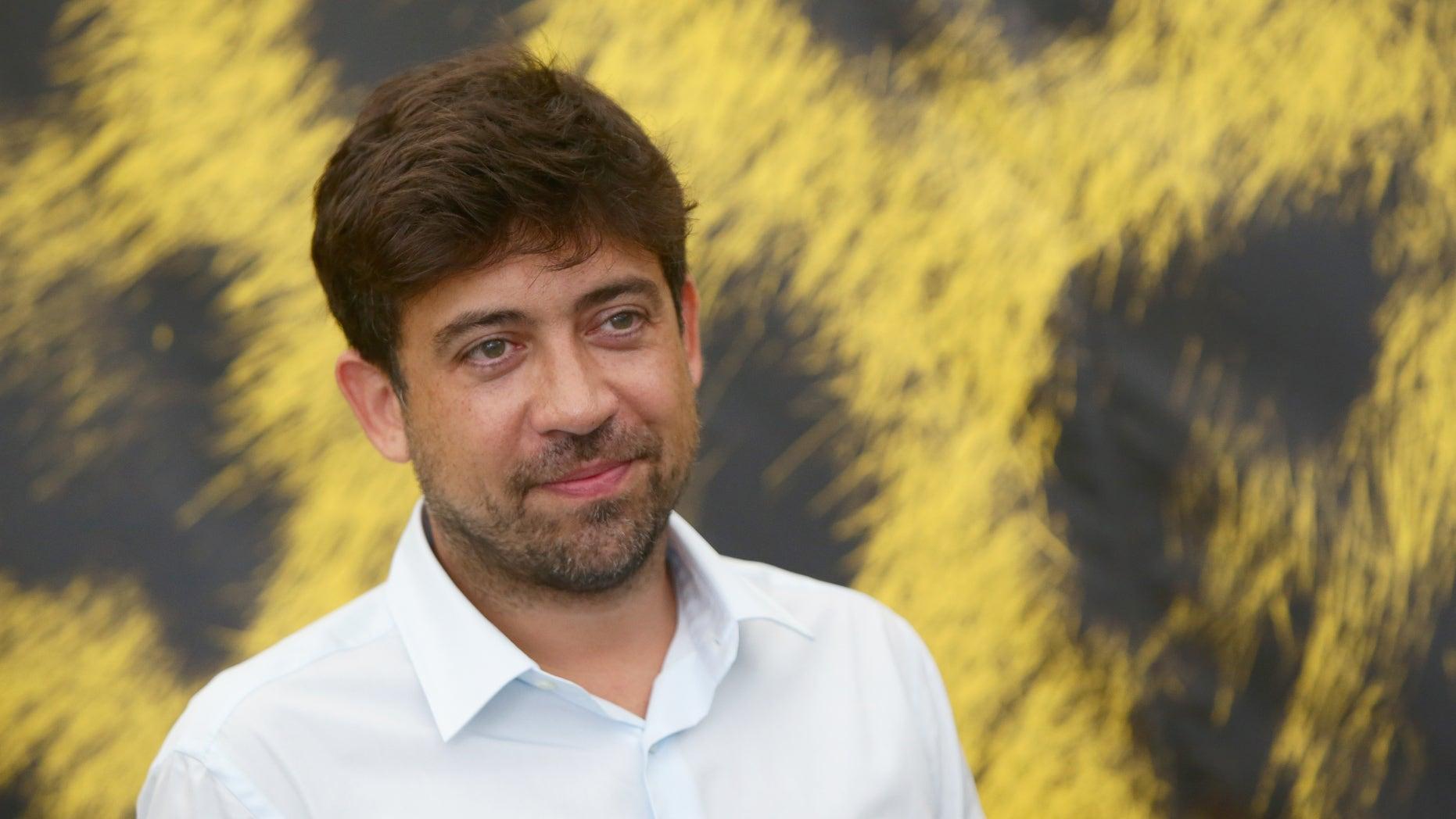 Director Alfonso Gomez-Rejon on August 14, 2015 in Locarno, Switzerland.