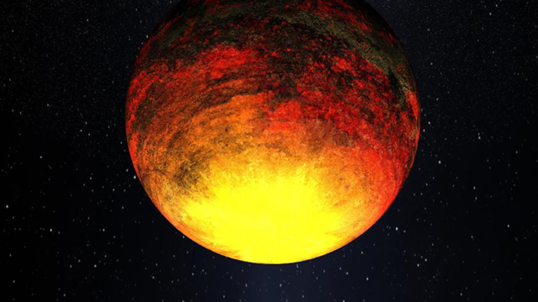 NASAs Kepler telescope is finding that relatively smaller planets -- still larger than Earth, but tinier than Jupiter -- are proving more common outside our solar system than once thought. This drawing is of one of the smallest planets that Kepler has found, a rocky planet called Kepler-10b, that measures 1.4 times the size of Earth and where the temperature is more than 2,500 degrees Fahrenheit.